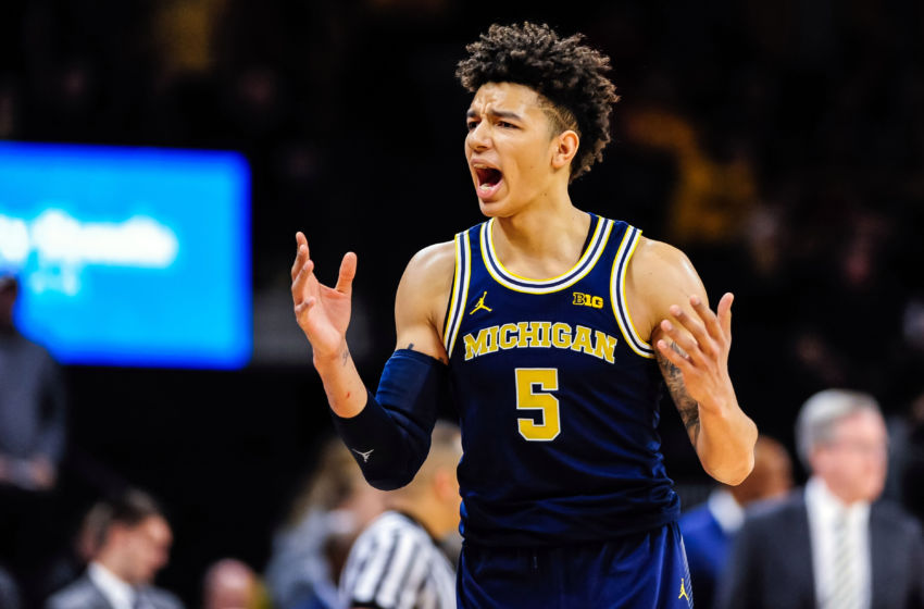Michigan Basketball: D.J. Wilson has molded into Michigan ...