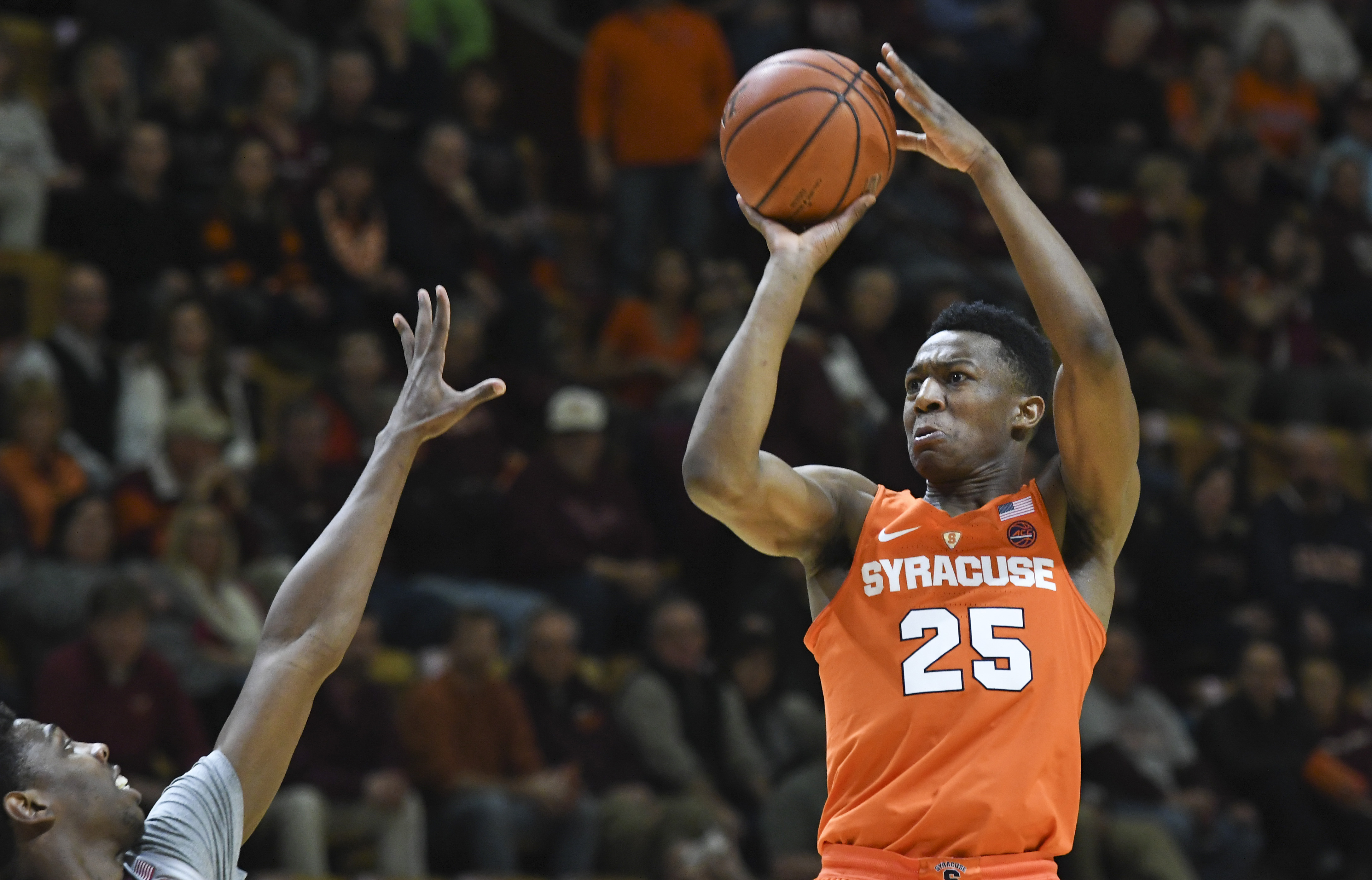 Rapid Reaction: Tyus Battle Leads Syracuse Basketball To Dominant Win