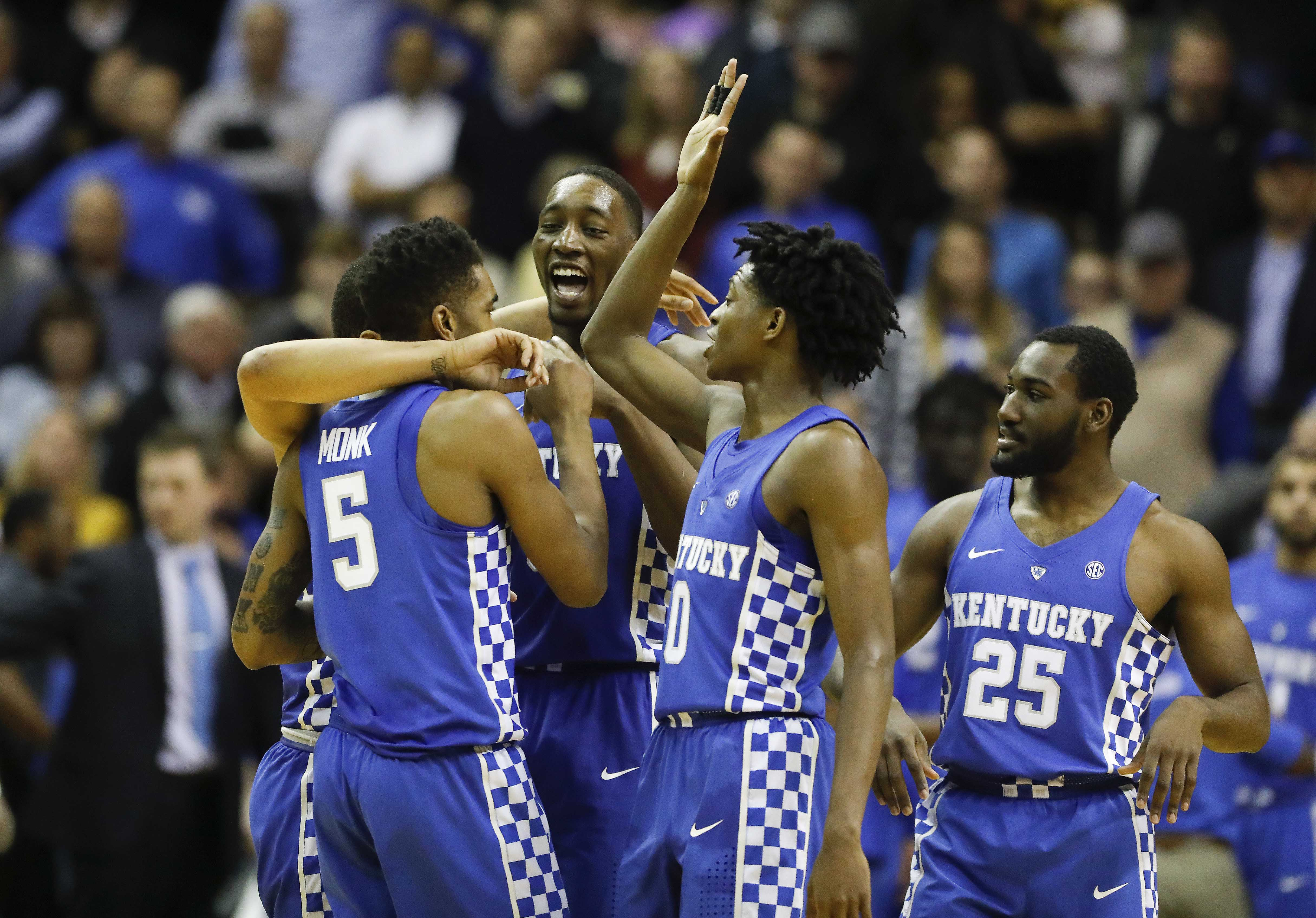 Kentucky Basketball Our First Look At The New Wildcats In: College Basketball Rankings 2017: Projected Week 11 Top 25