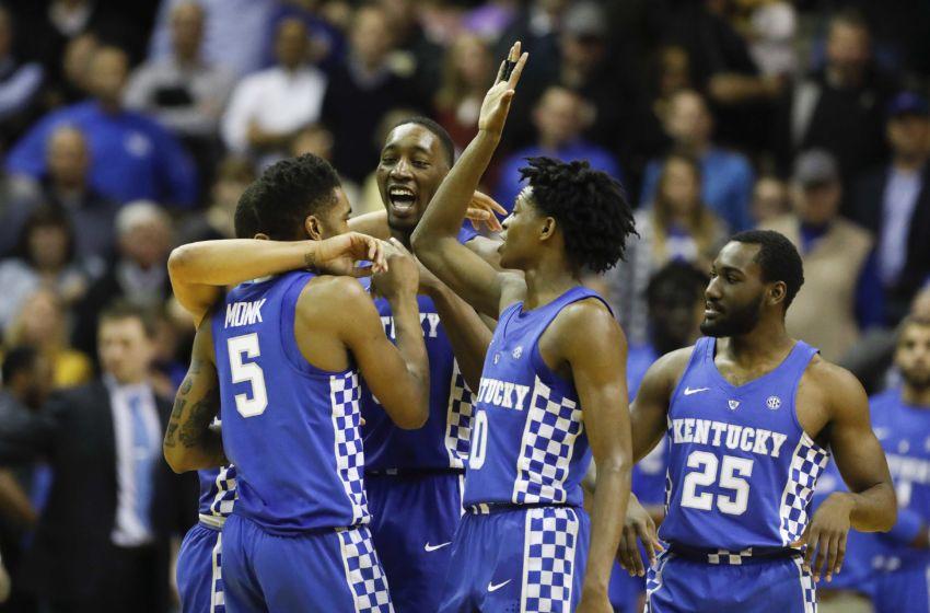 Malik Monk And De Aaron Fox Usa Today All Americans: Kentucky Basketball: Wildcat Freshmen Pick Up SEC Post