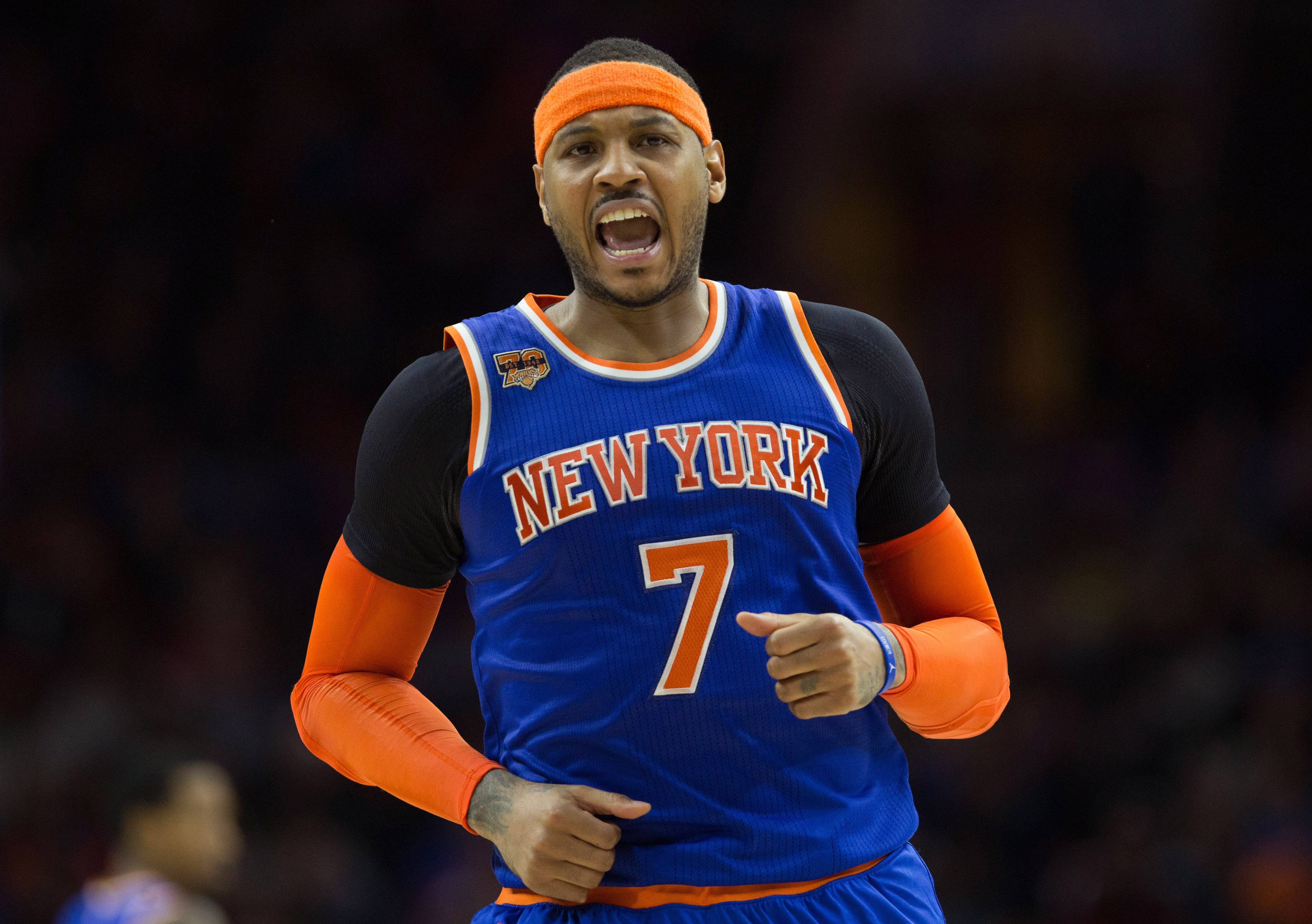 New York Knicks: New York Knicks Should Start Carmelo Anthony At Power