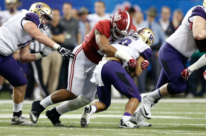 NCAA Football: Chick-fil-A Peach Bowl-Alabama vs Washington