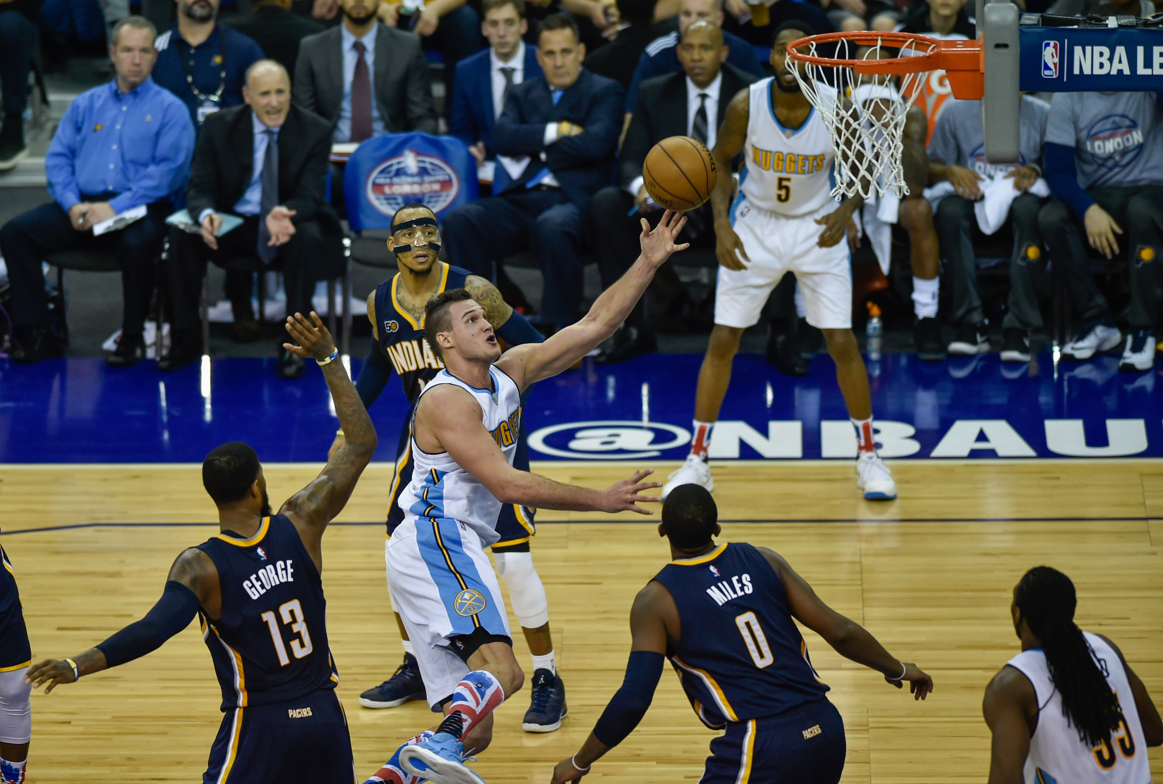 Jokic Leads The Way As Nuggets Defeat Pacers