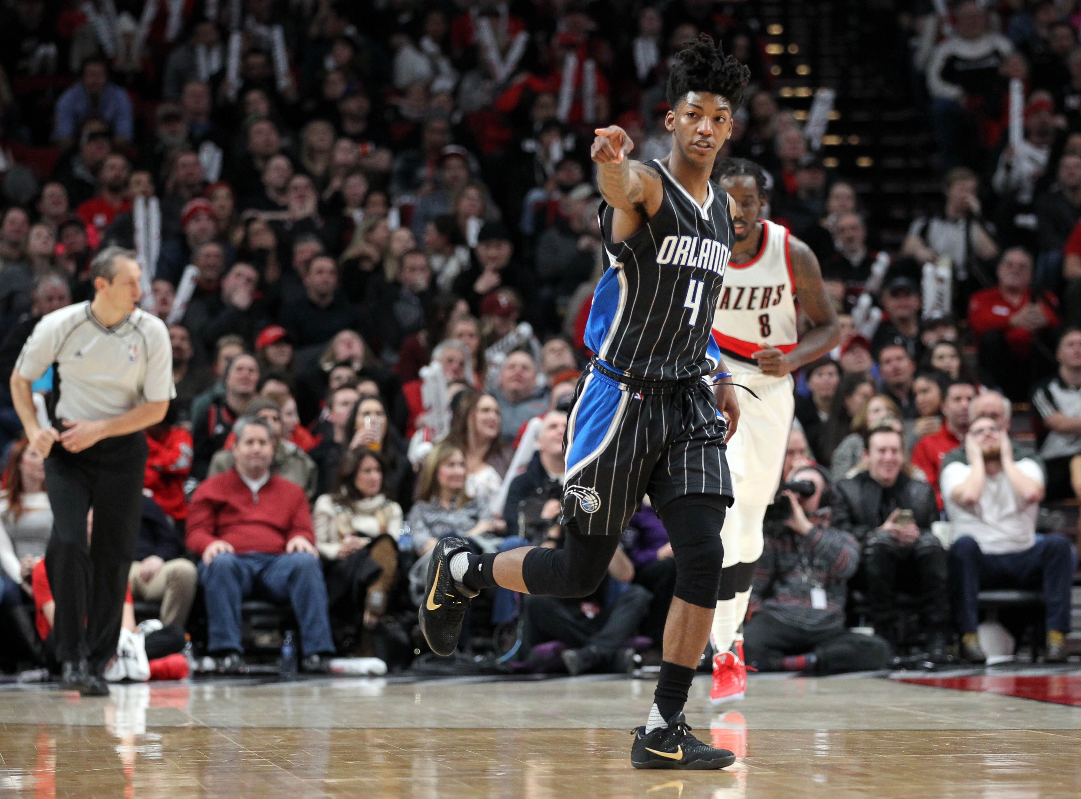 NBA: Orlando Magic at Portland Trail Blazers