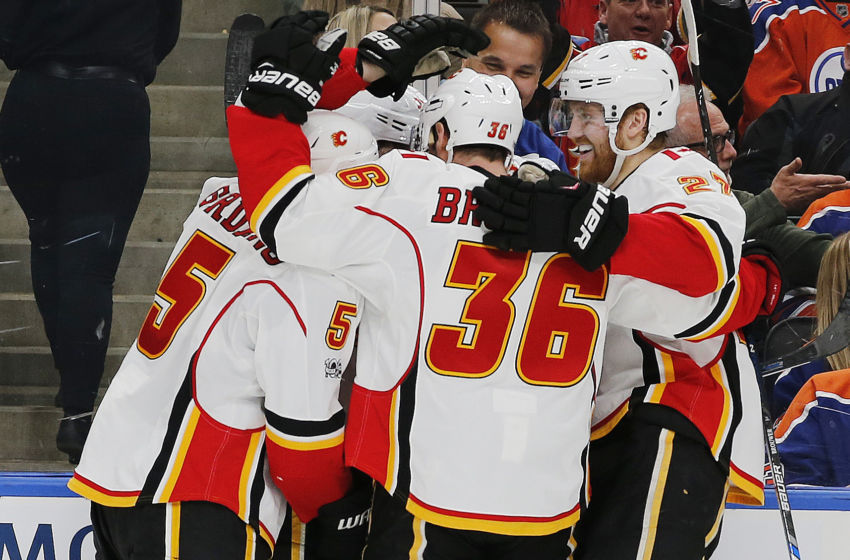 NHL: Calgary Flames at Edmonton Oilers