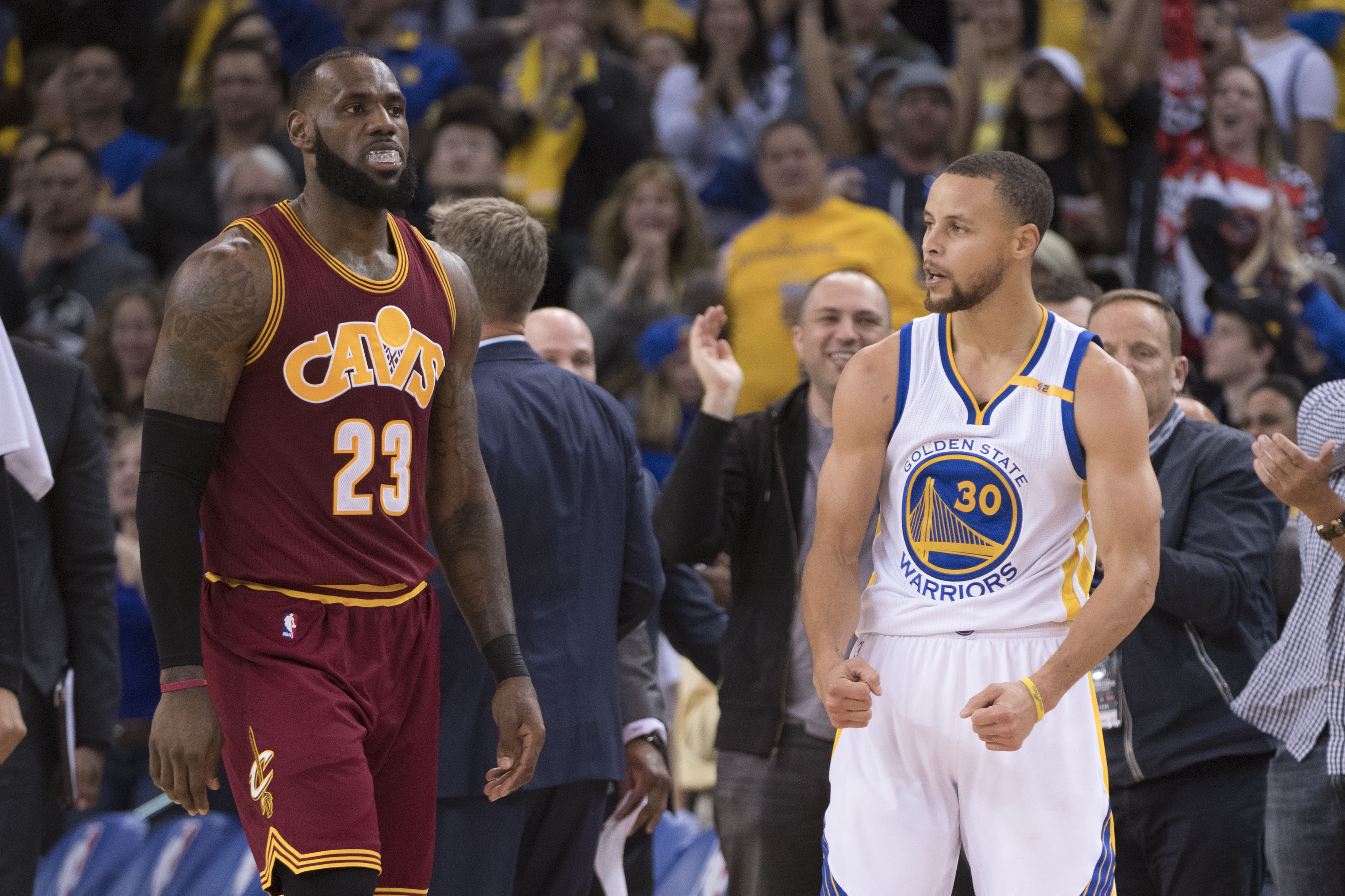 LeBron James calls Warriors a 'juggernaut'