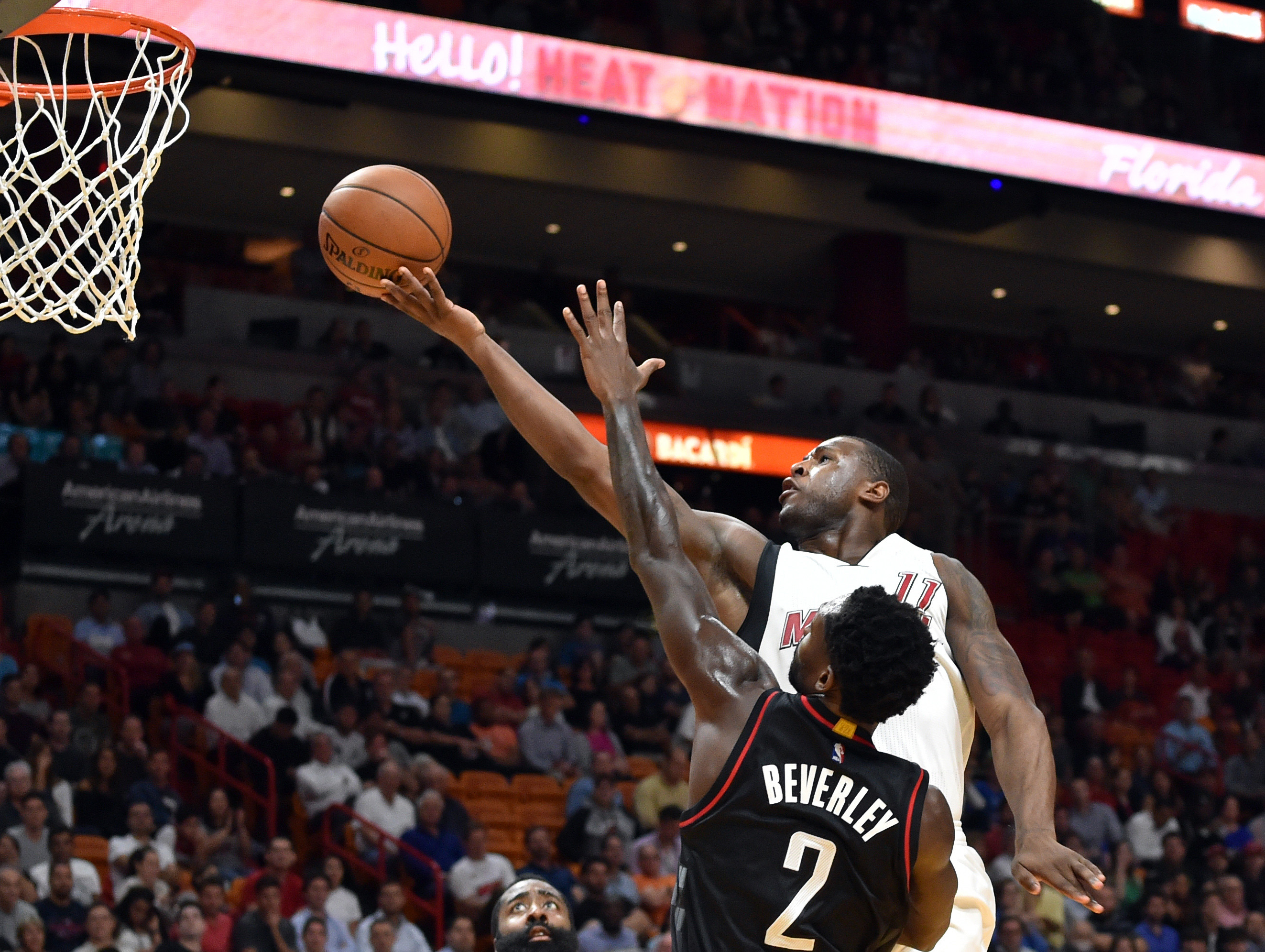 NBA: Houston Rockets at Miami Heat