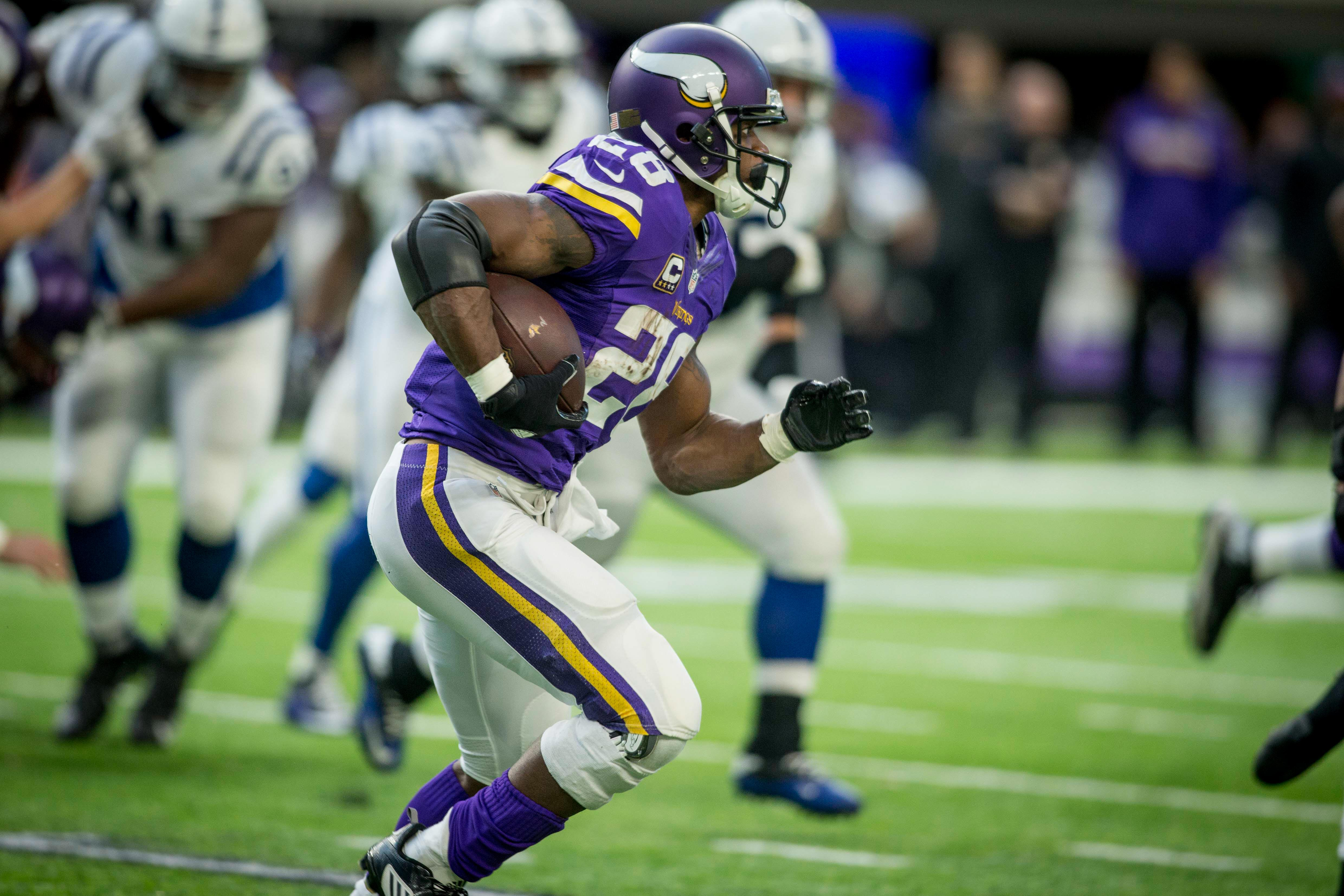 saints have right offense adrian peterson