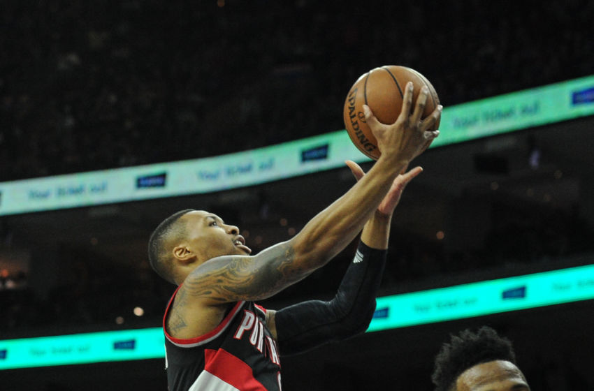 NBA: Portland Trail Blazers at Philadelphia 76ers