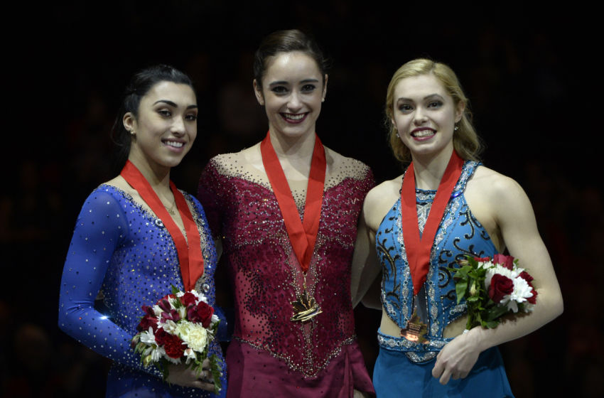 Resultado de imagen para canadian nationals figure skating 2017 ladies