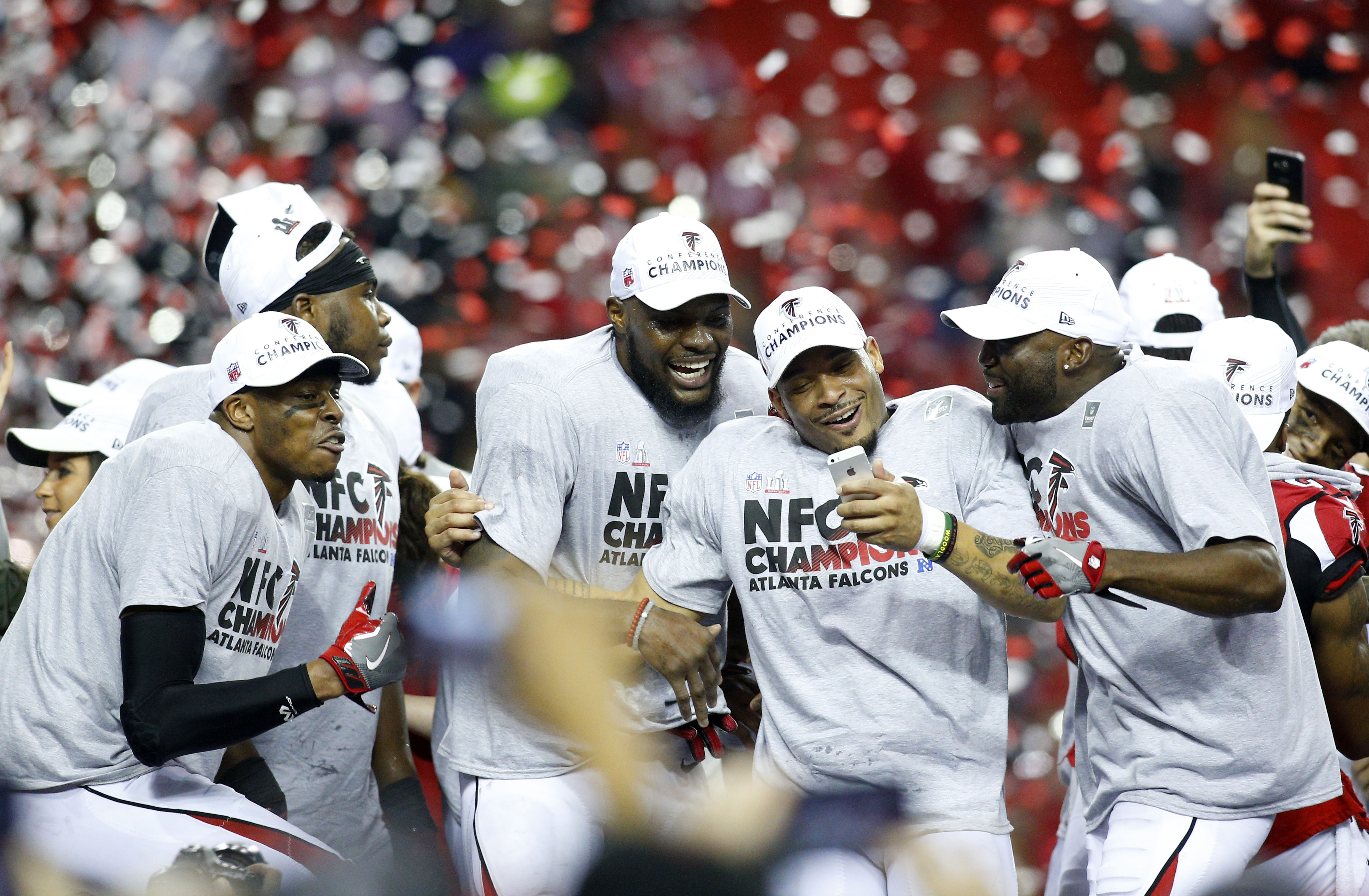 Atlanta Falcons 2017 NFC Championship gear revealed