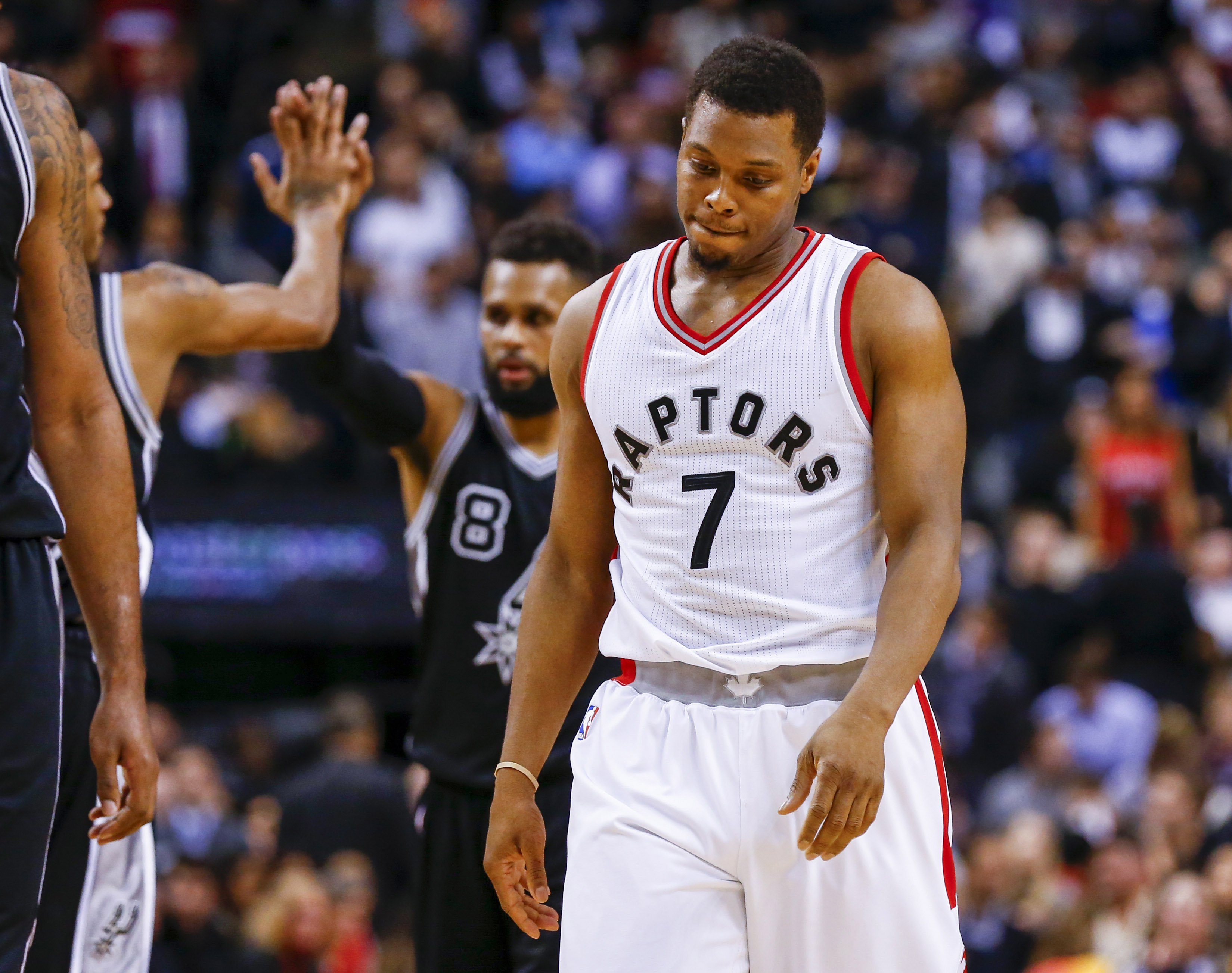 With new cup name and logo its time to go to work foxsports com - Jan 24 2017 Toronto Ontario Can Toronto Raptors Guard Kyle Lowry 7 Reacts On The Court Against The San Antonio Spurs In The Second Half At Air Canada