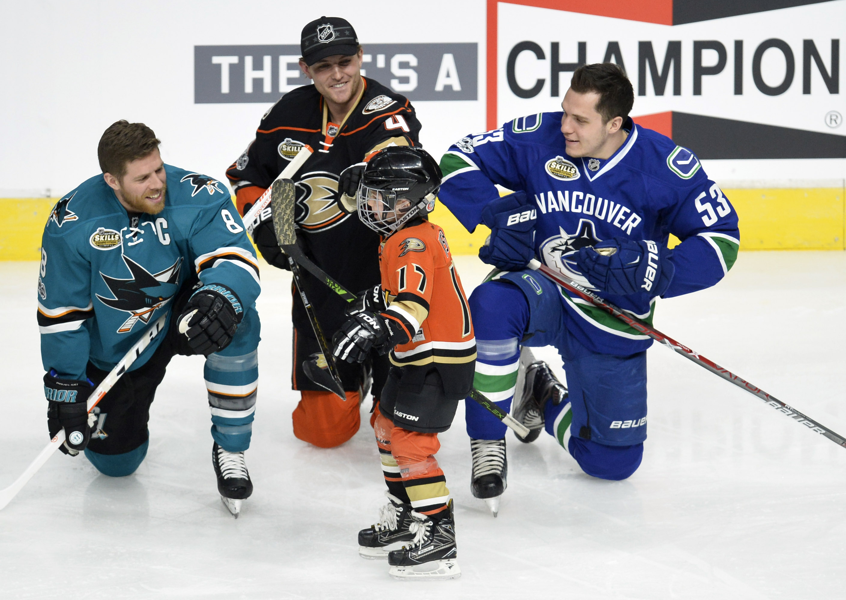 Canucks Game Day  Horvat Faces All-Star Friends vs. Sharks  637823b3f