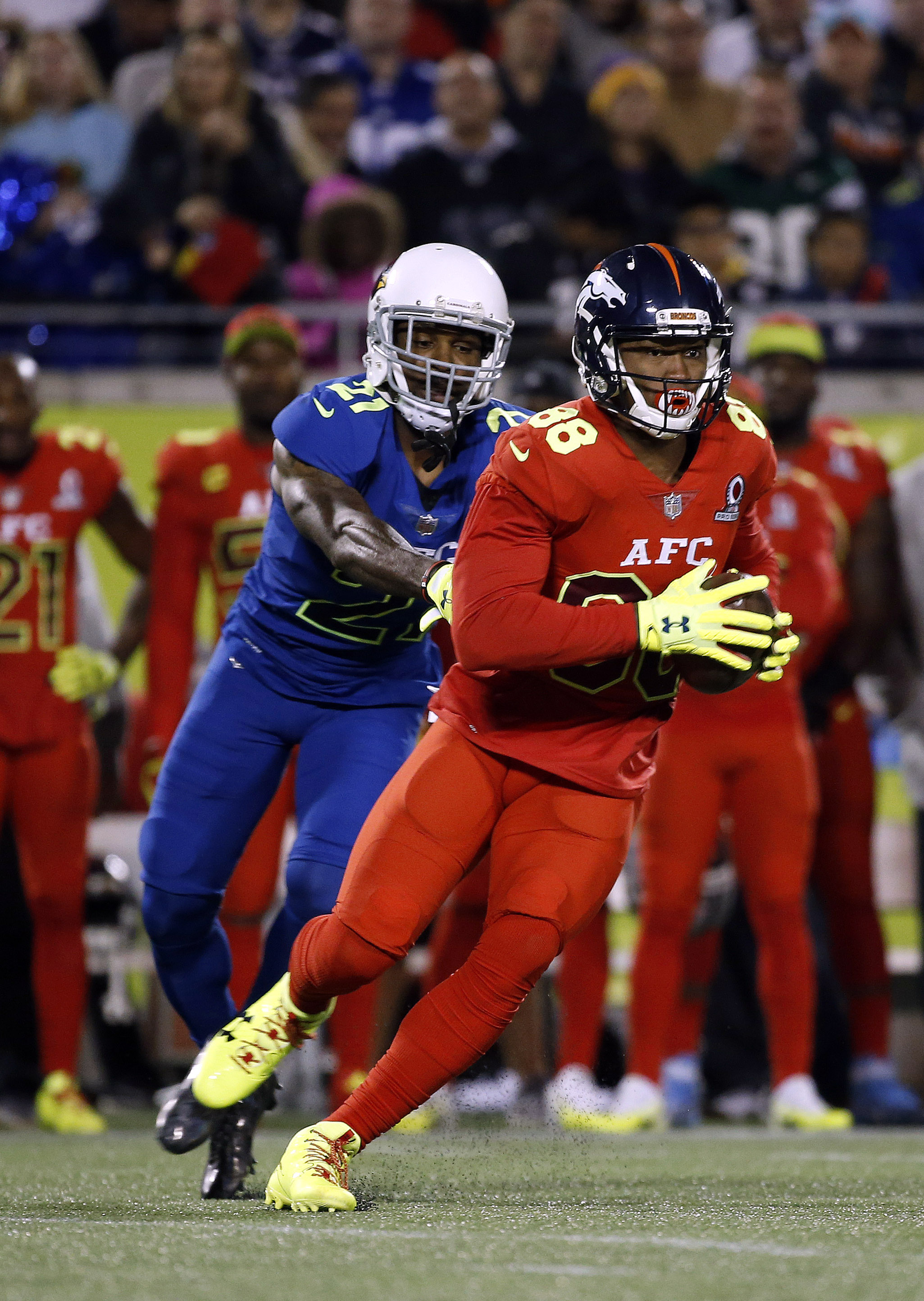 Arizona Cardinals: Peterson on losing side in Pro Bowl