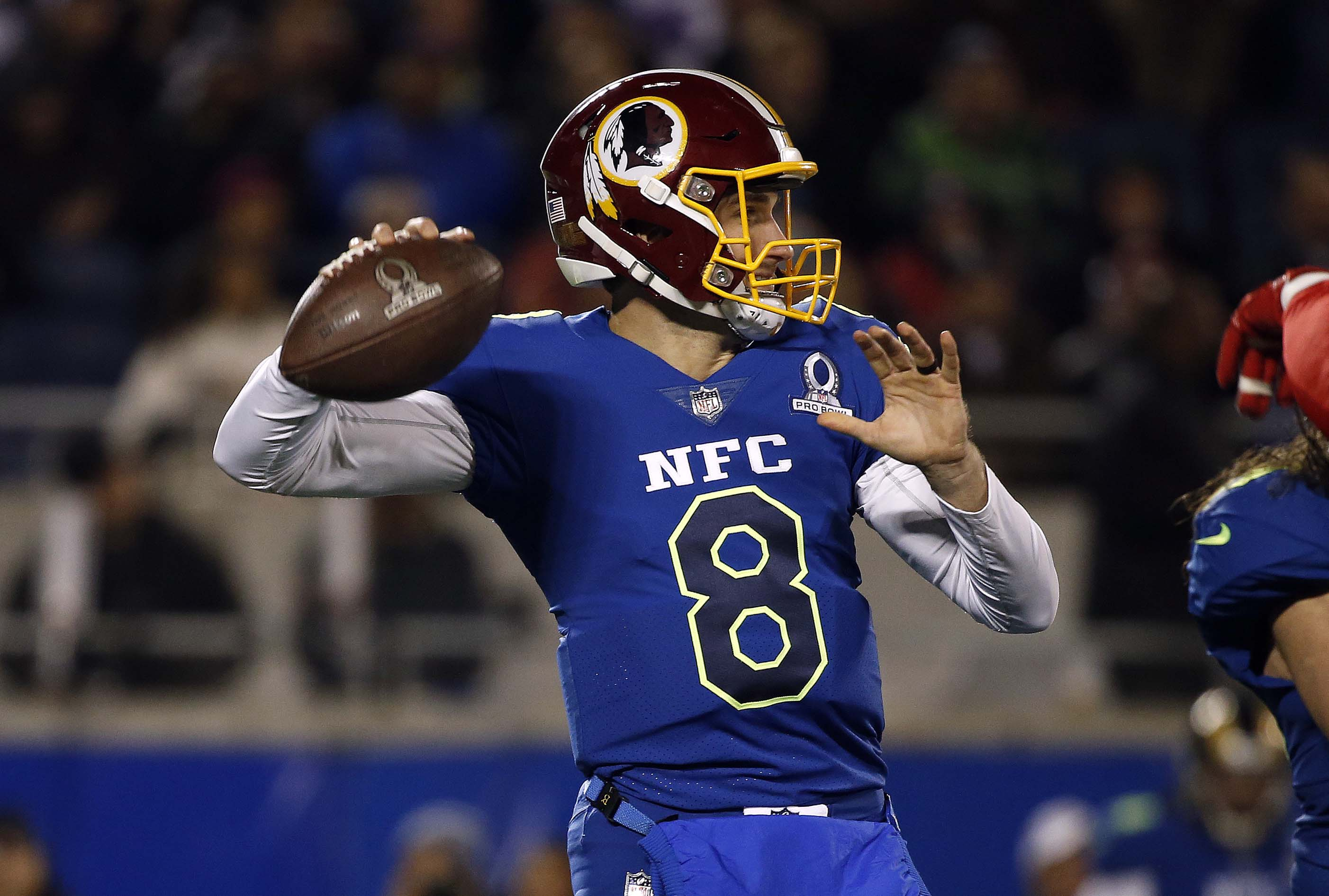 Redskins keep Kirk Cousins off the market with exclusive franchise tag