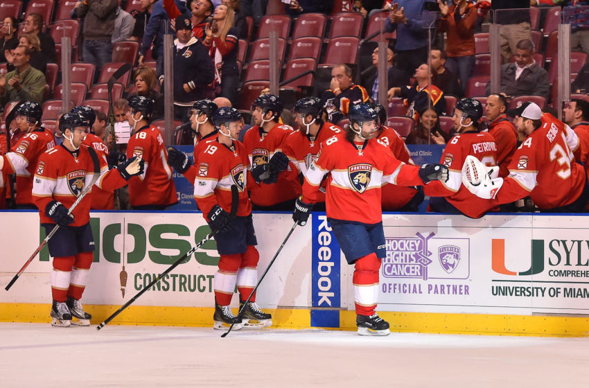 NHL Power Rankings: Florida Panthers right wing <a rel=