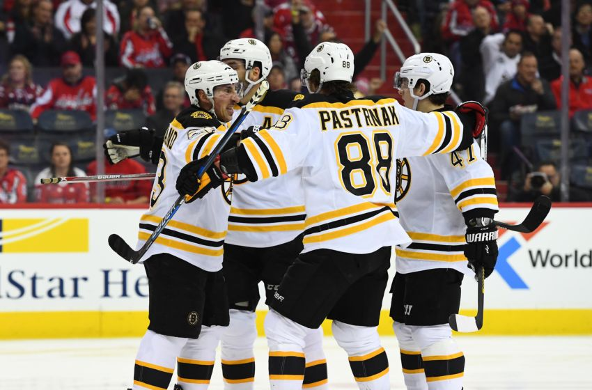 NHL Power Rankings: Boston Bruins left wing <a rel=