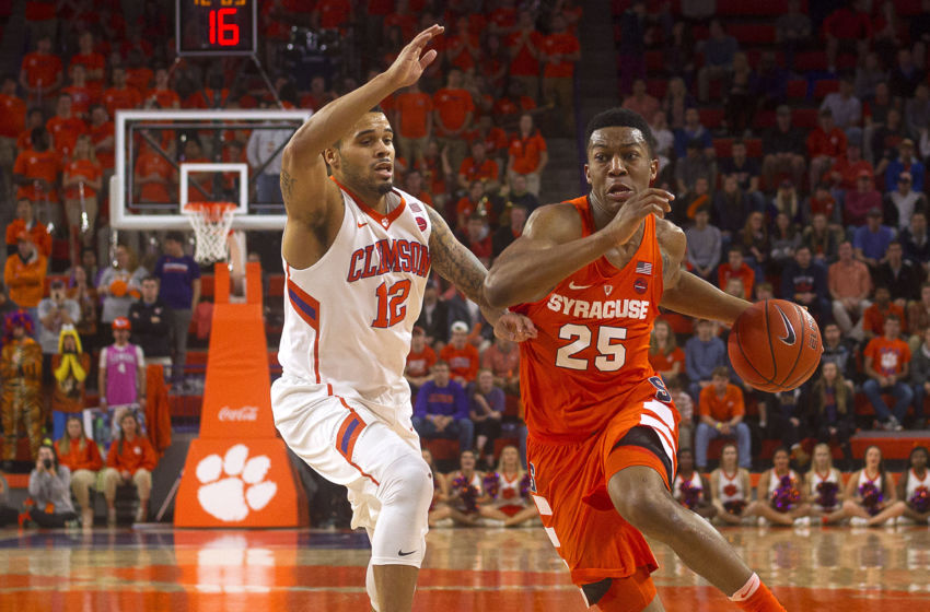 Clemson Basketball Beats Syracuse Strengthens March: Syracuse's Tyus Battle Hits Three At Buzzer To Beat