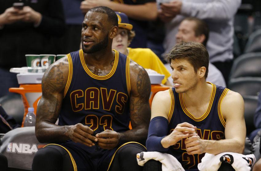 Feb 8, 2017; Indianapolis, IN, USA; Cleveland Cavaliers forward LeBron ...