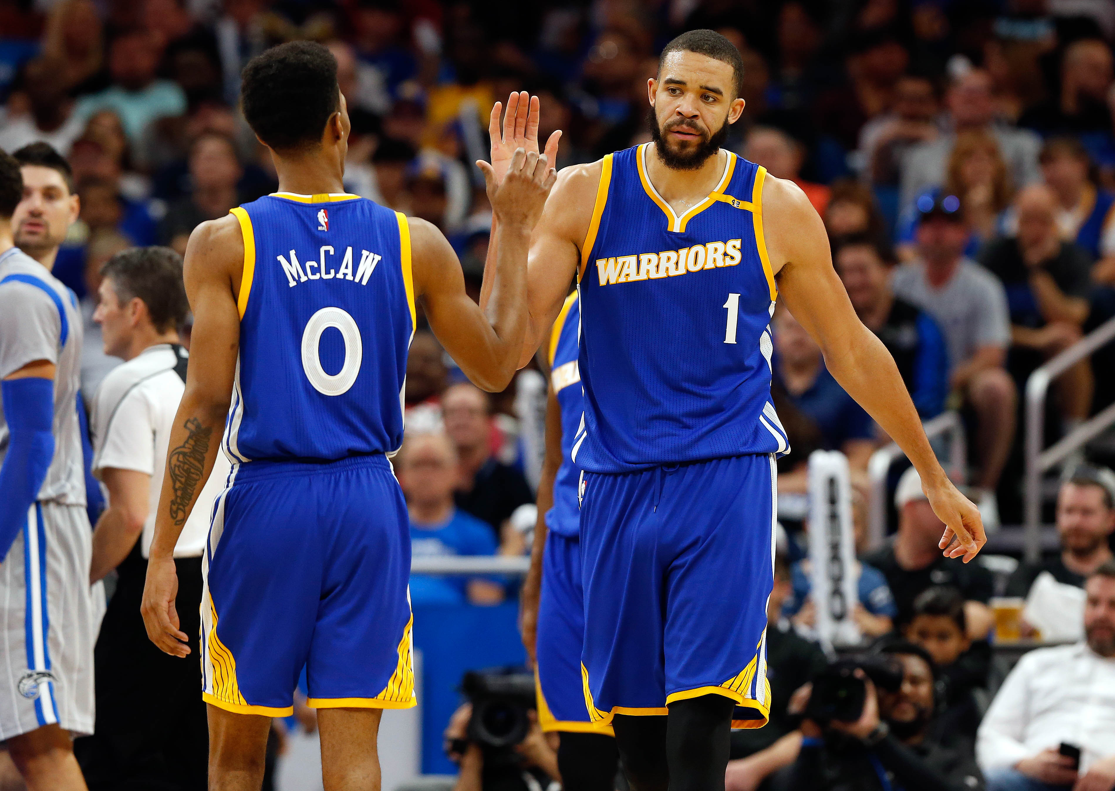 more photos a43f6 994ff Golden State Warriors: Evaluating The Baby Warriors ...