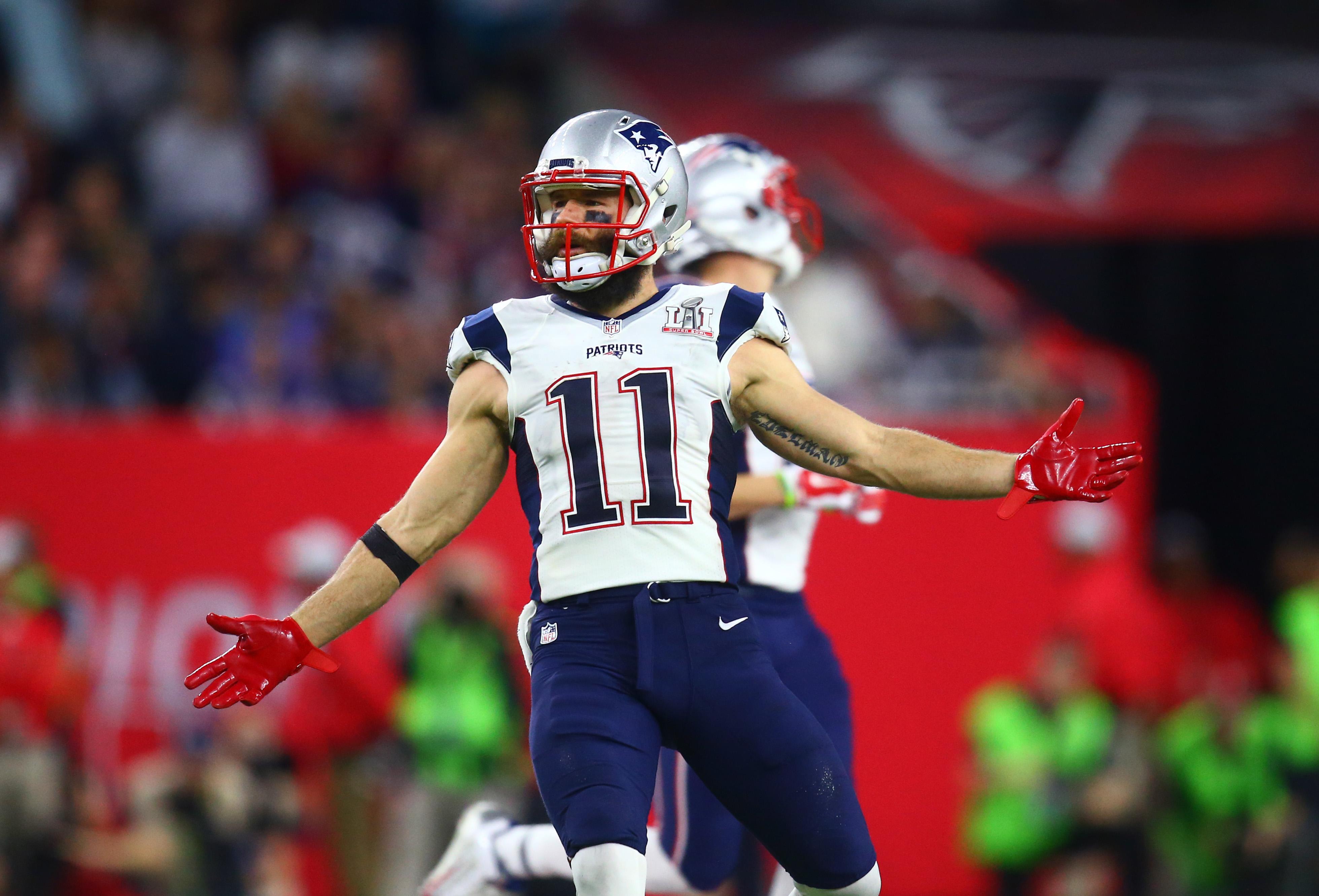 New England Patriots: Julian Edelman No. 71 on 'NFL Top 100' list