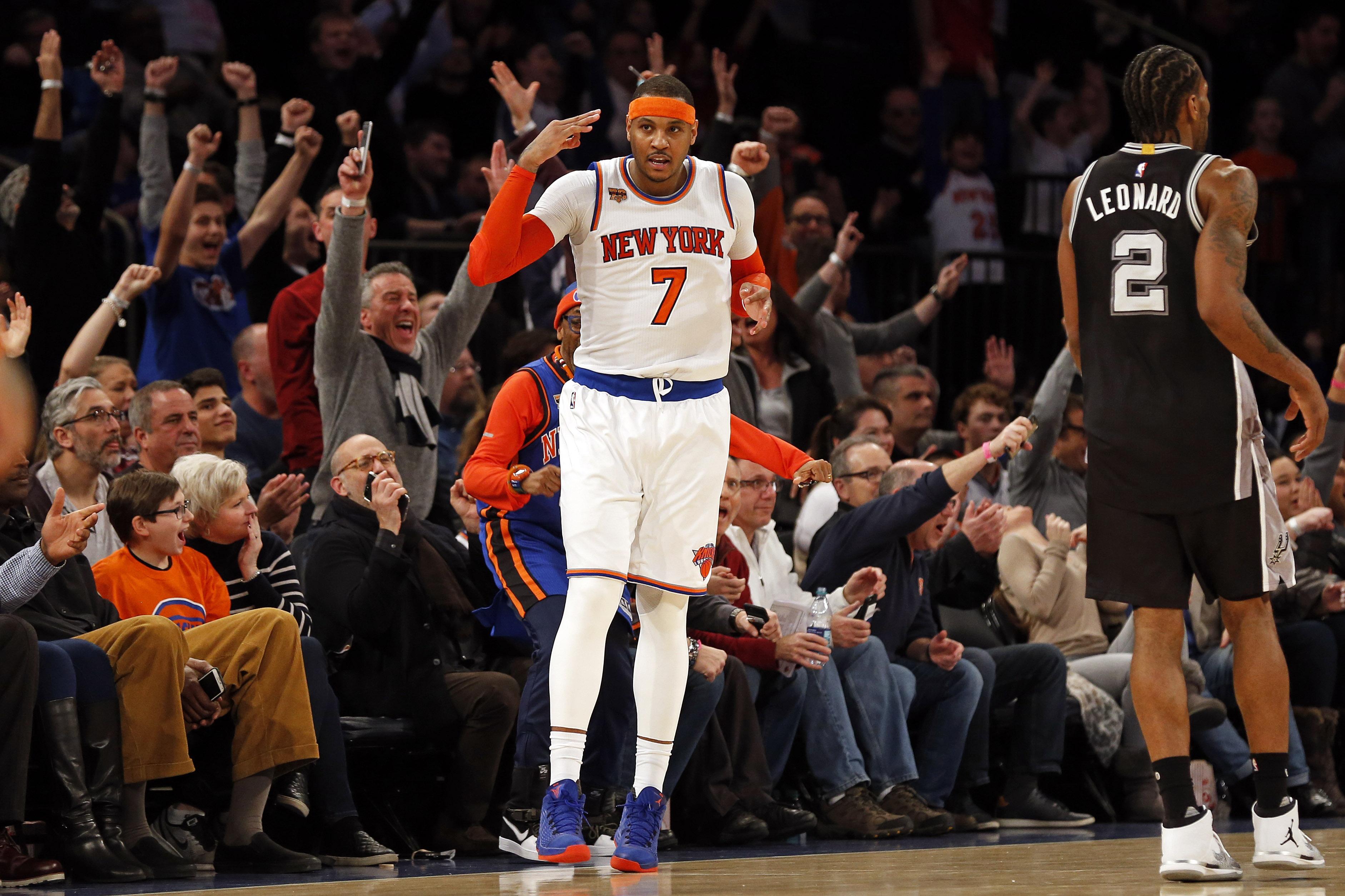 New York Knicks: New York Knicks: Who Stepped Up Against The San Antonio