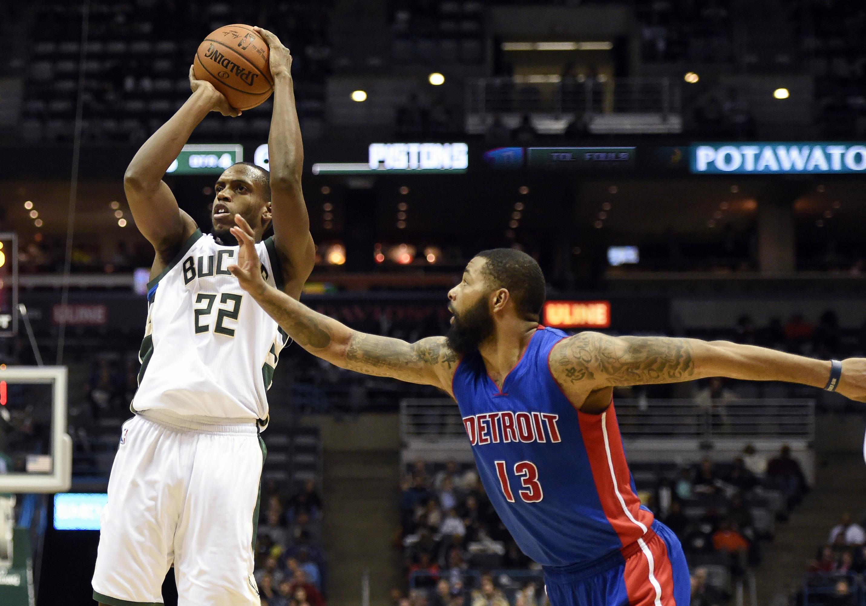 Bucks 102, Pistons 89