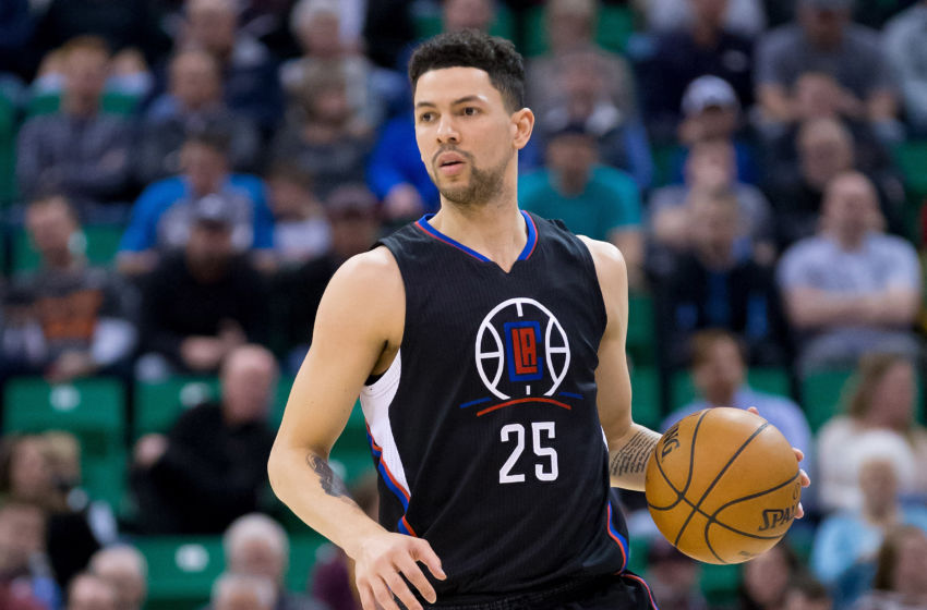 Image result for austin rivers vs jazz