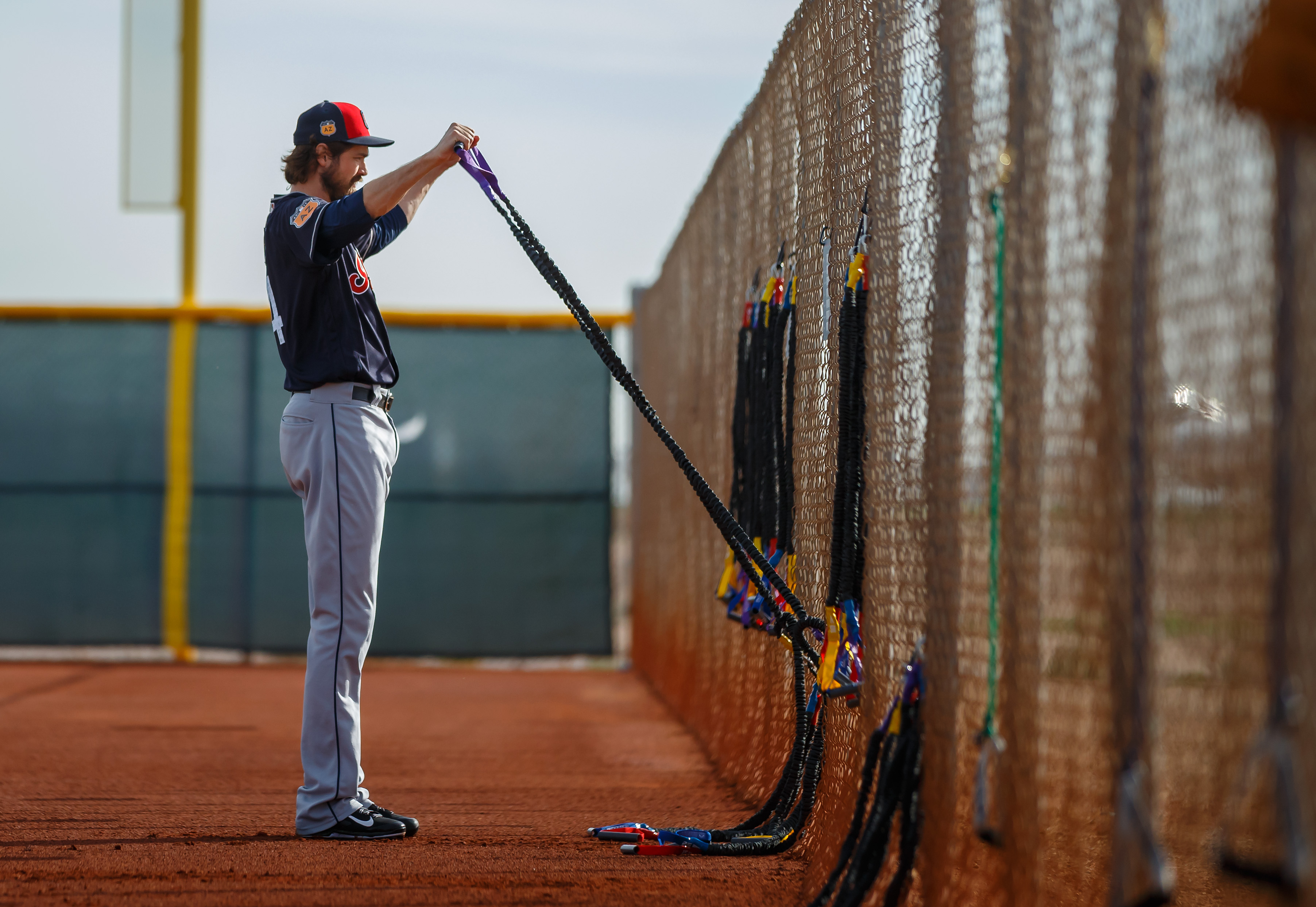 9877534-mlb-cleveland-indians-workouts