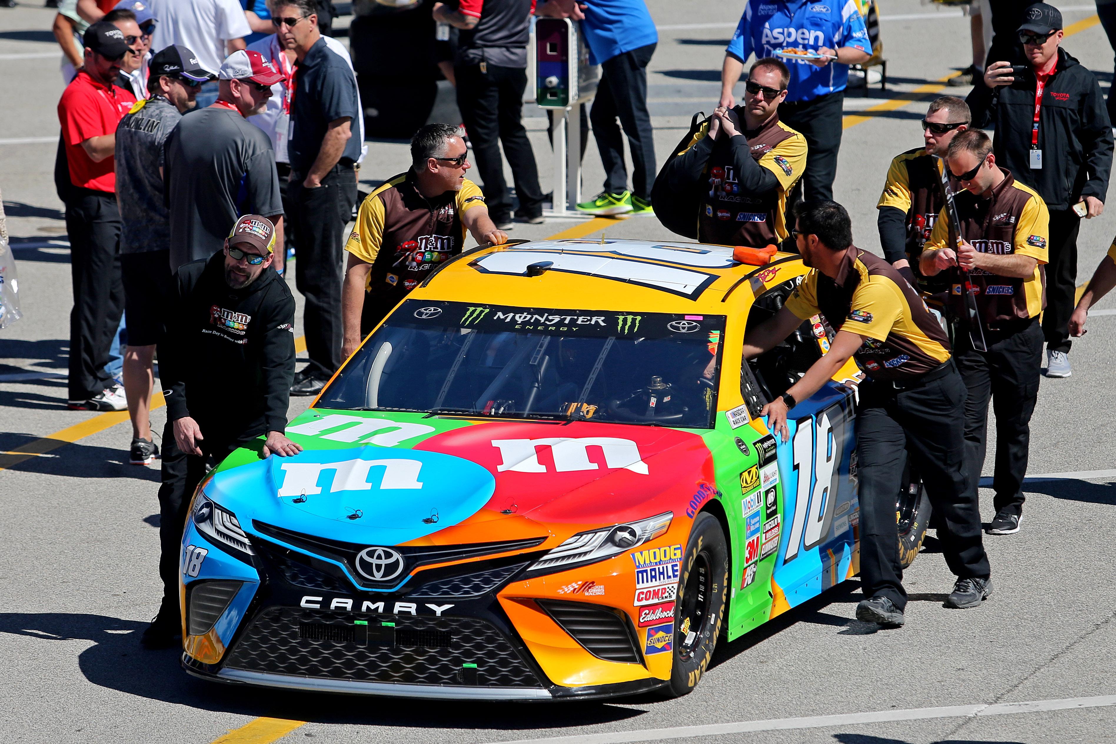 Kyle Busch Motorsports >> NASCAR: Mars Inc. Releases Statement On Kyle Busch Fight