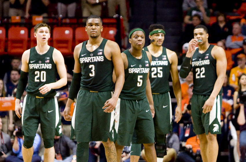 Michigan State Basketball: Highlights, final score at Illinois
