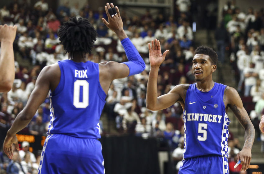 Kentucky Basketball: Wildcats Have Two USA Today