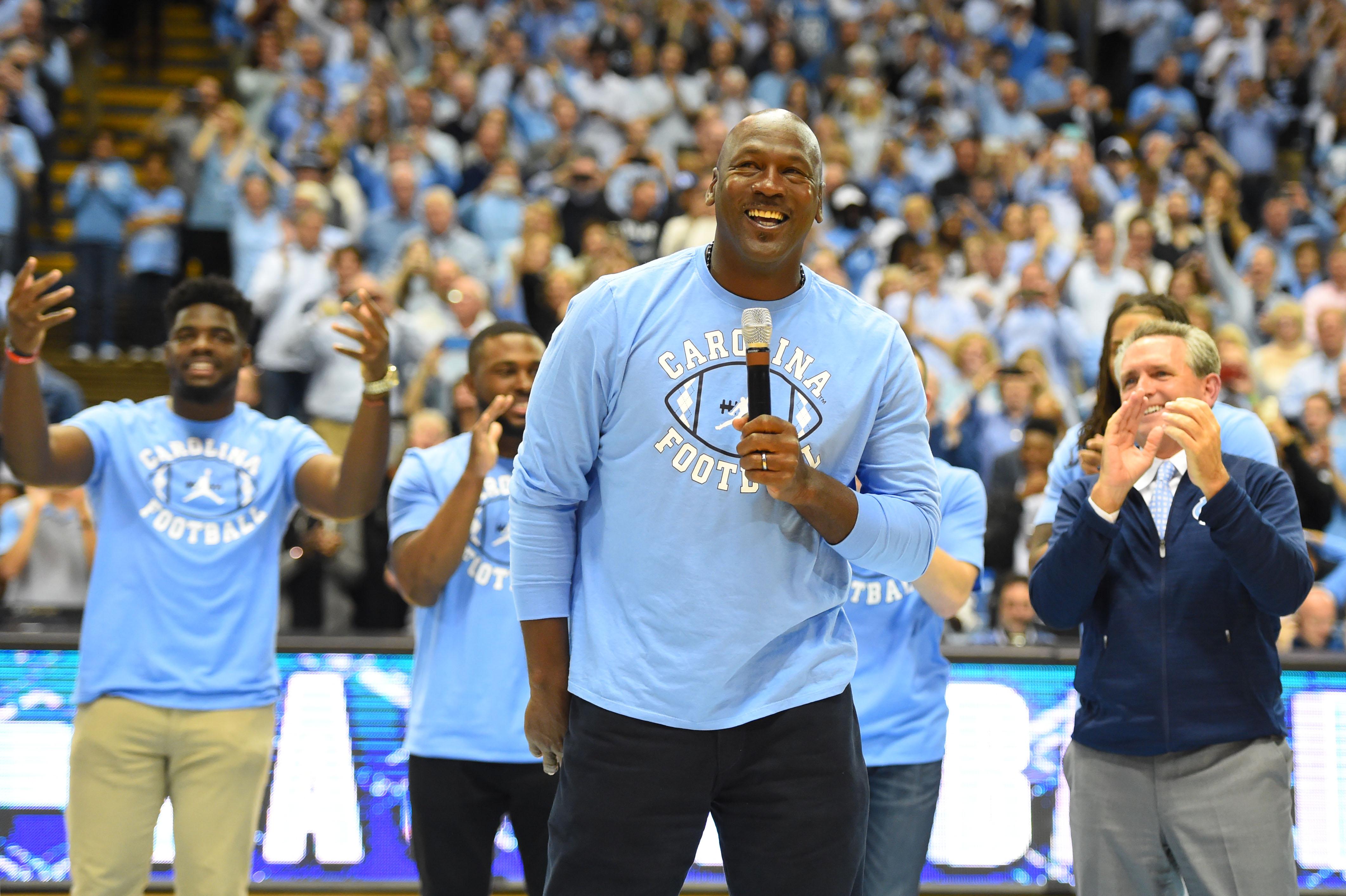 Unc Basketball The Reason Why Michael Jordan Wasn T At