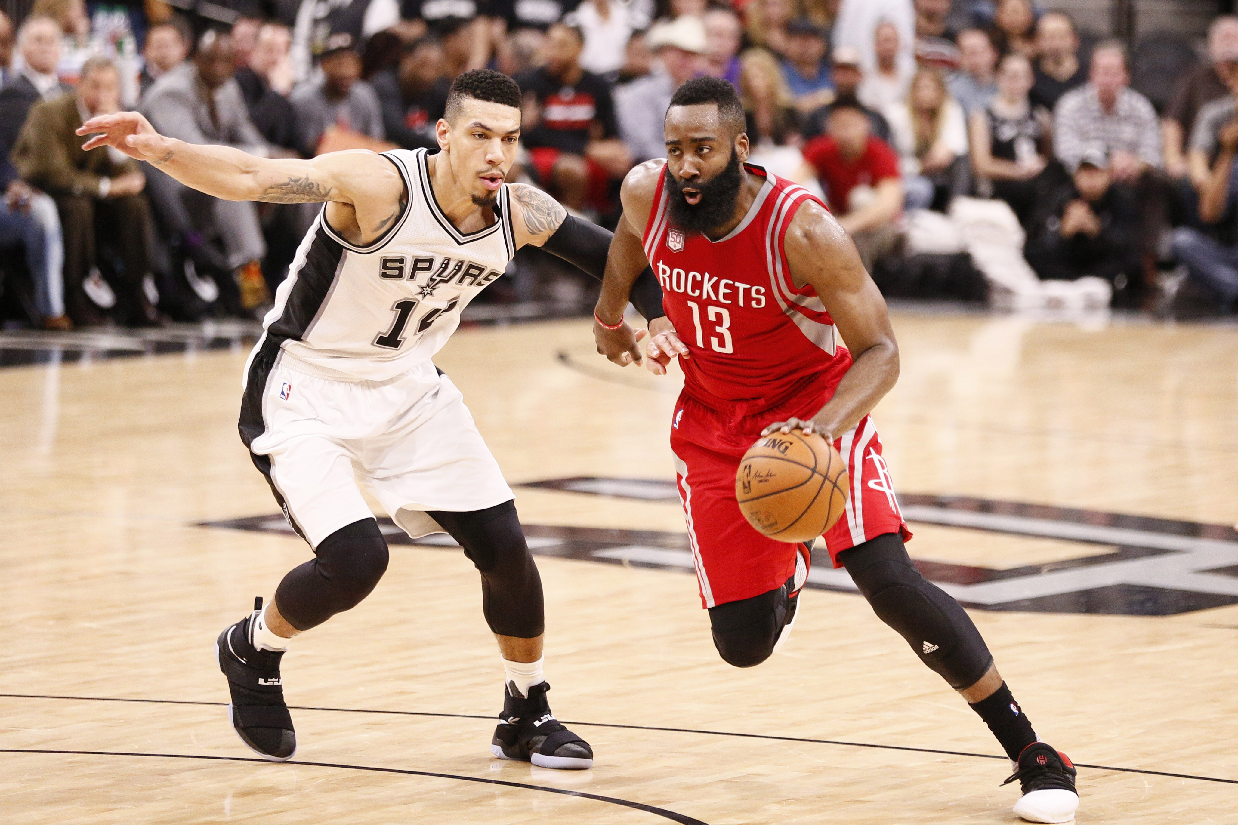 Houston rockets nba rumors - Mar 6 2017 San Antonio Tx Usa Houston Rockets Shooting Guard J Harden 13 Drives To The Basket While Guarded By Spurs Shooting Guard D Green 14