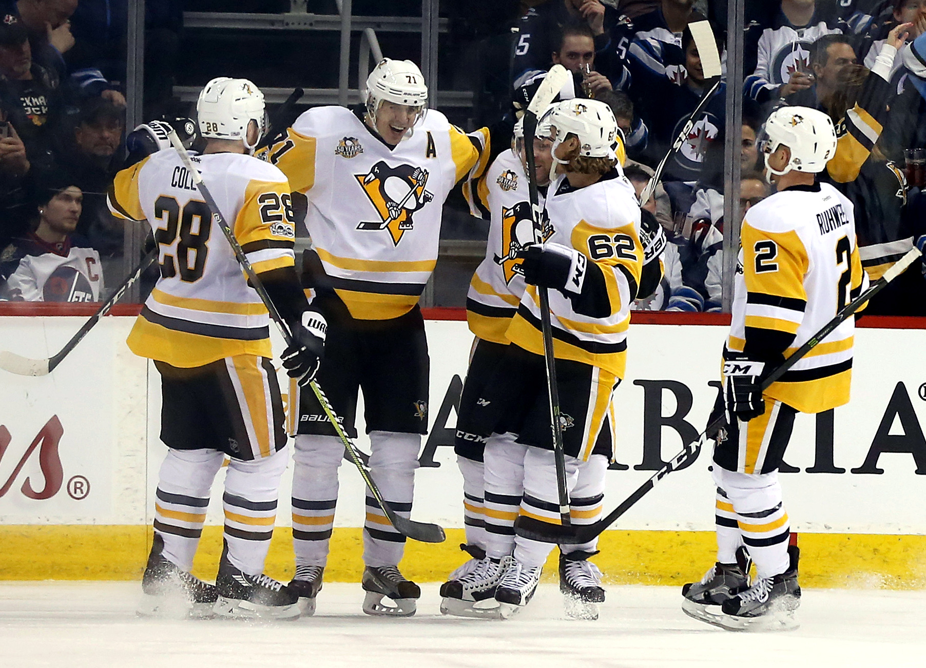 Pittsburgh Penguins March Penguins