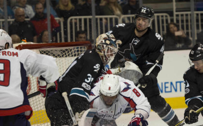 San Jose Sharks Washington Capitals Martin Jones Alex Ovechkin