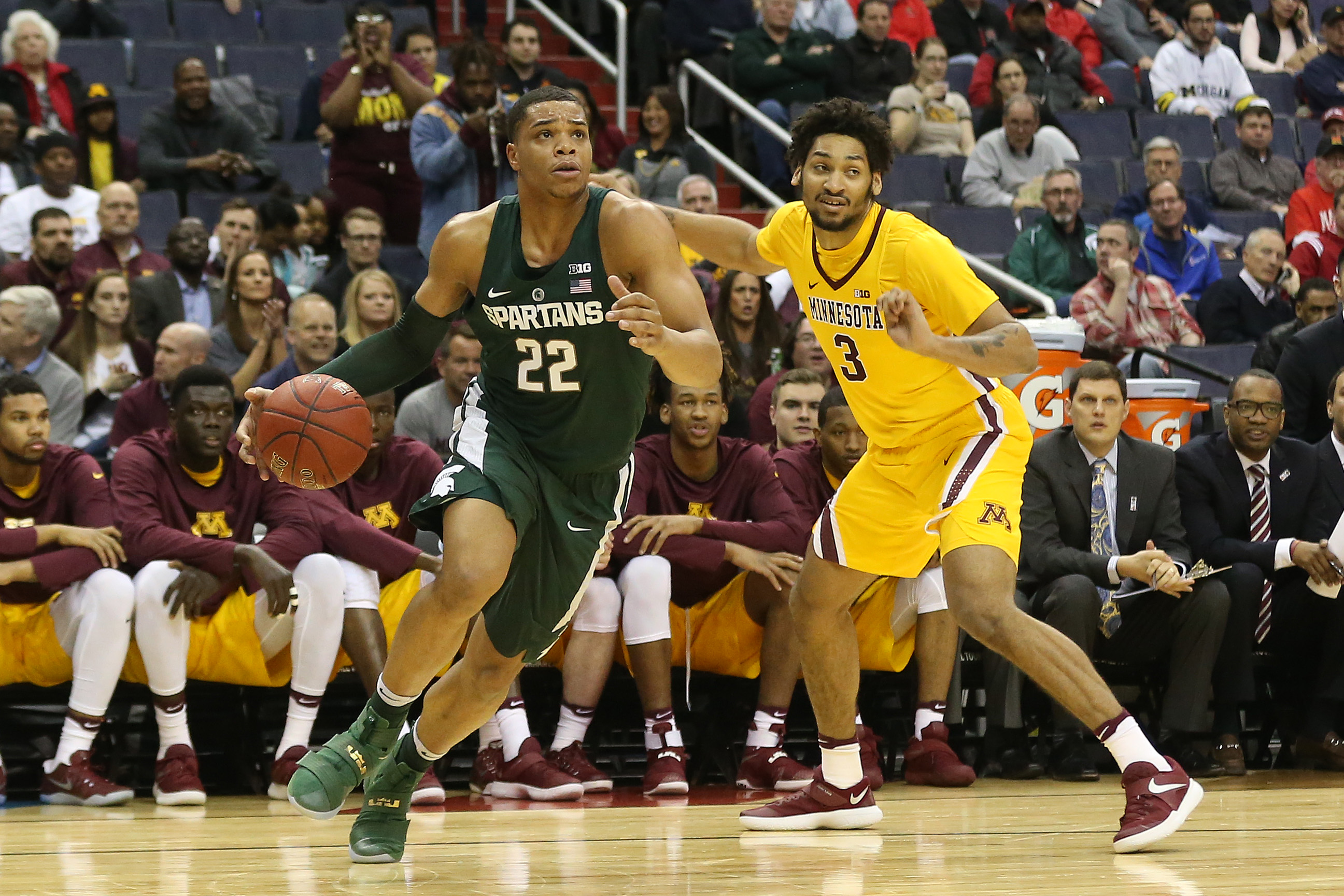 Michigan State Basketball Highlights Top Performers Vs