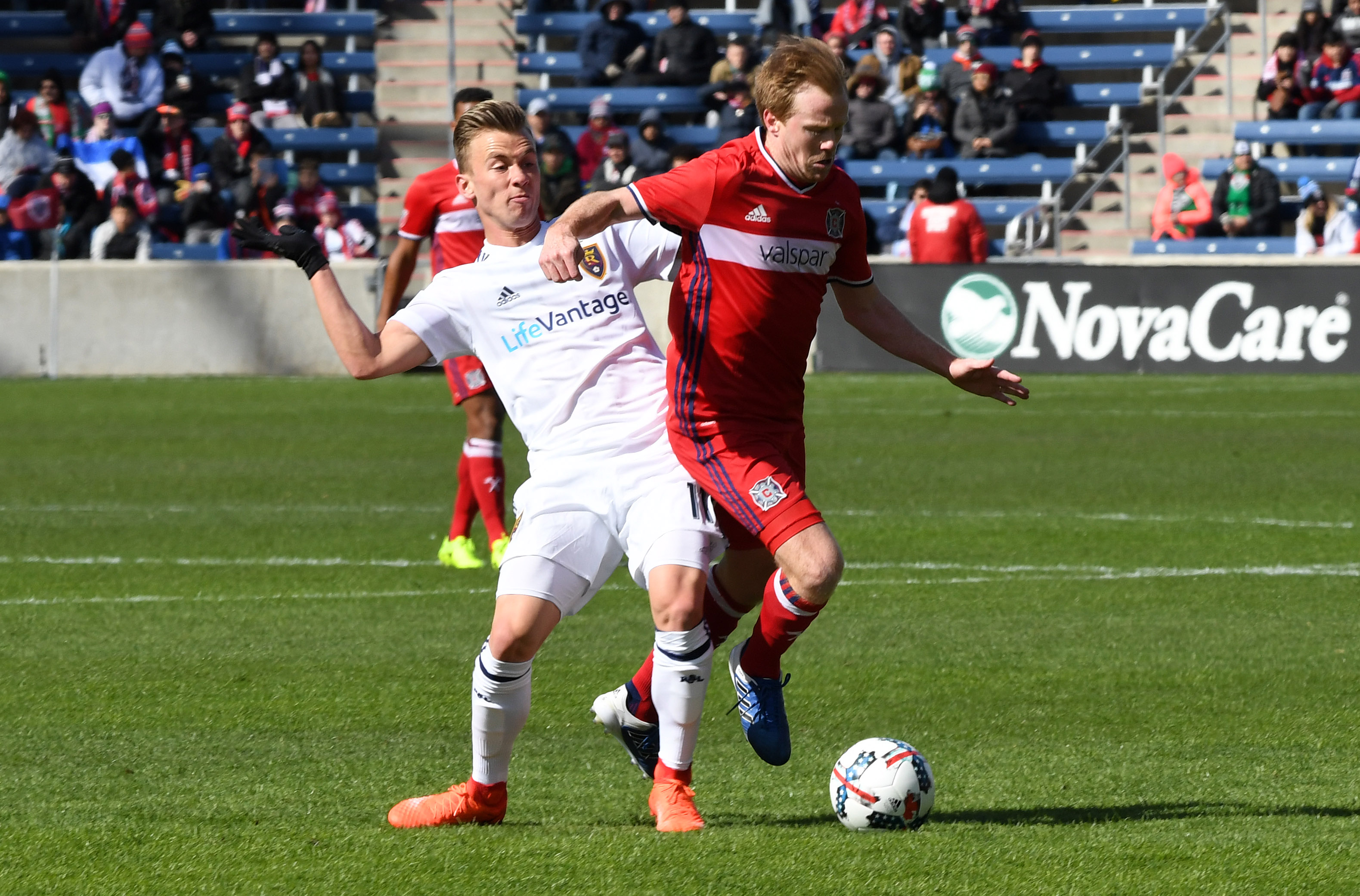 Bastian Schweinsteiger scores for Chicago Fire on MLS debut