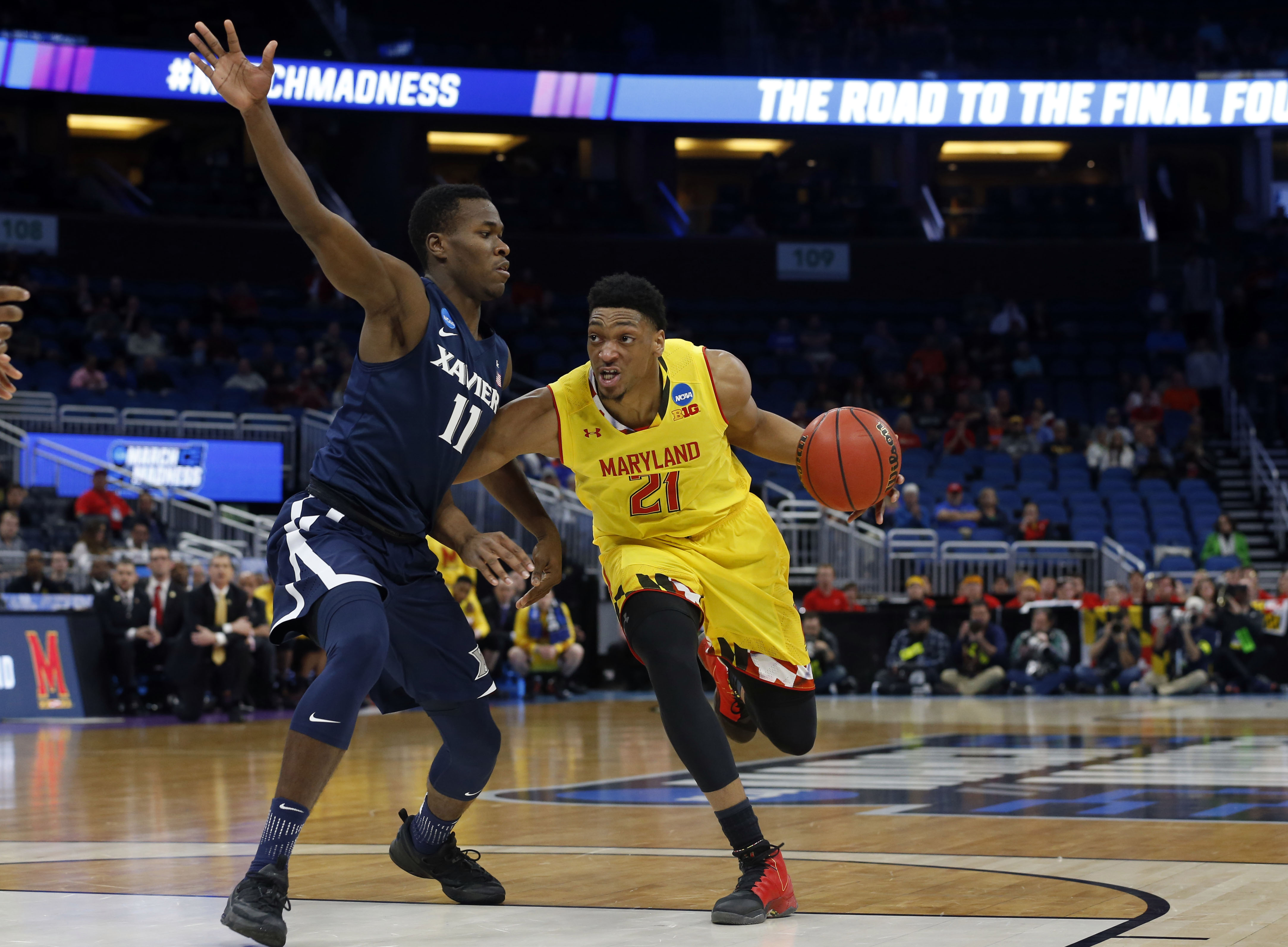 9947849-ncaa-basketball-ncaa-tournament-first-round-maryland-vs-xavier