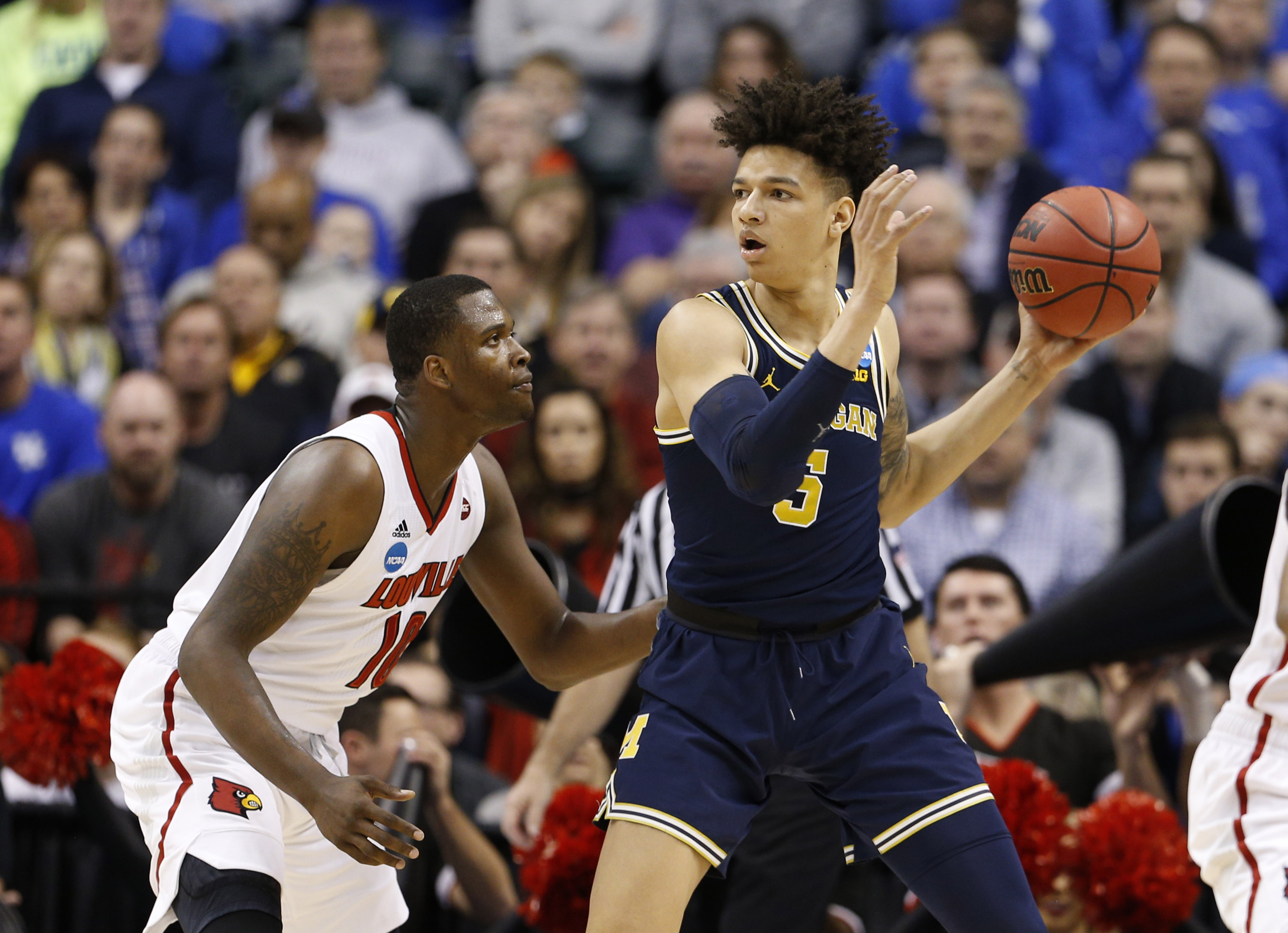 Bucks add another young forward in Michigan's DJ Wilson