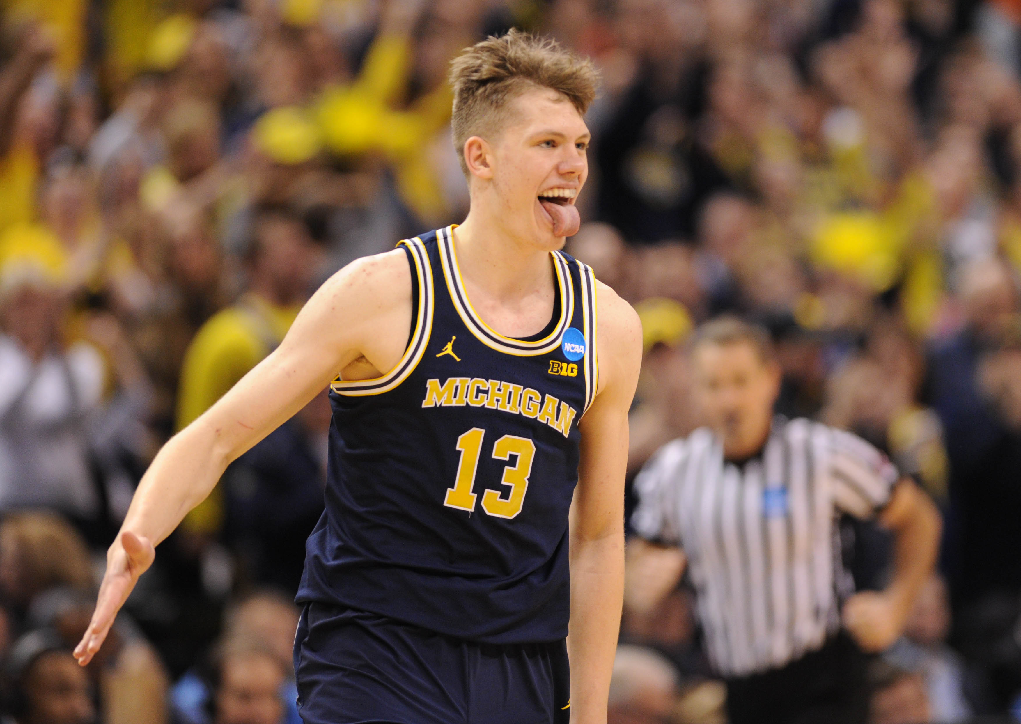 Moritz Wagner Leads Michigan Basketball to Sweet 16