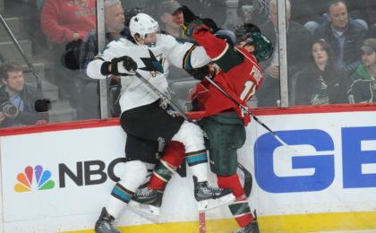 San Jose Sharks Minnesota Wild