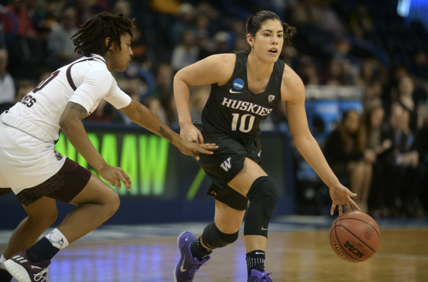 Kelsey Plum goes No. 1 in WNBA draft