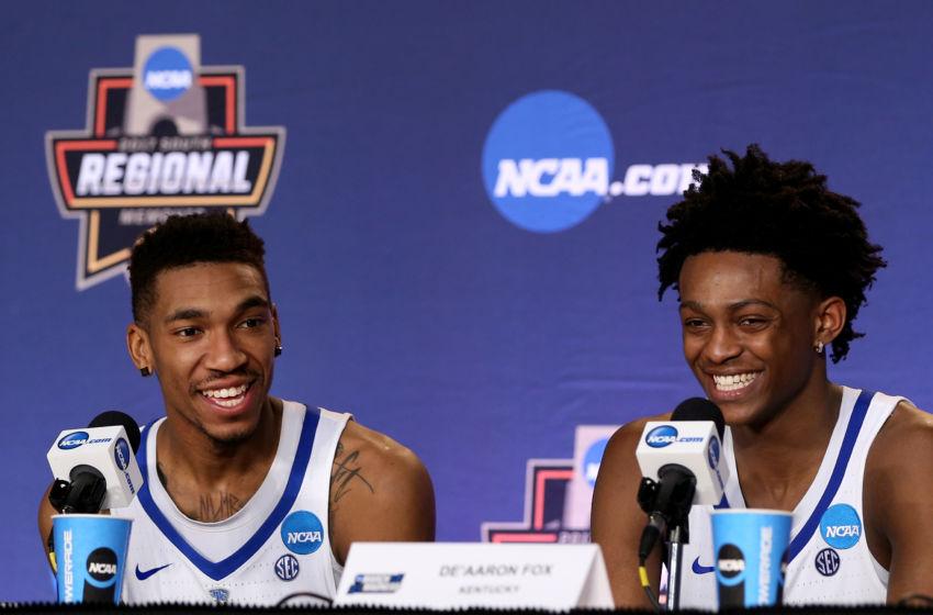 Uk Basketball: Kentucky Basketball: De'Aaron Fox And Malik Monk Declare