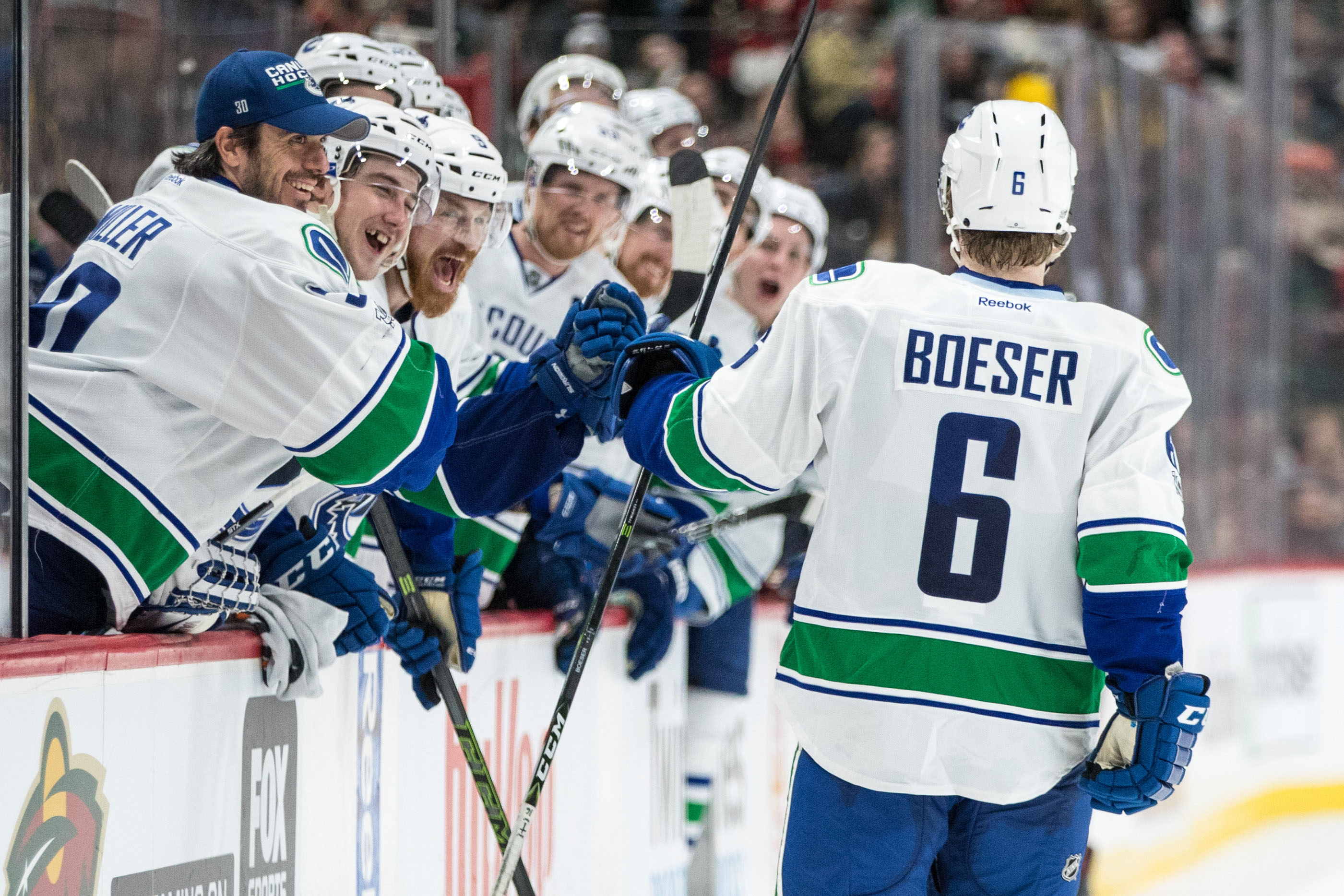 canucks game day brock boeser may need rest vs jets
