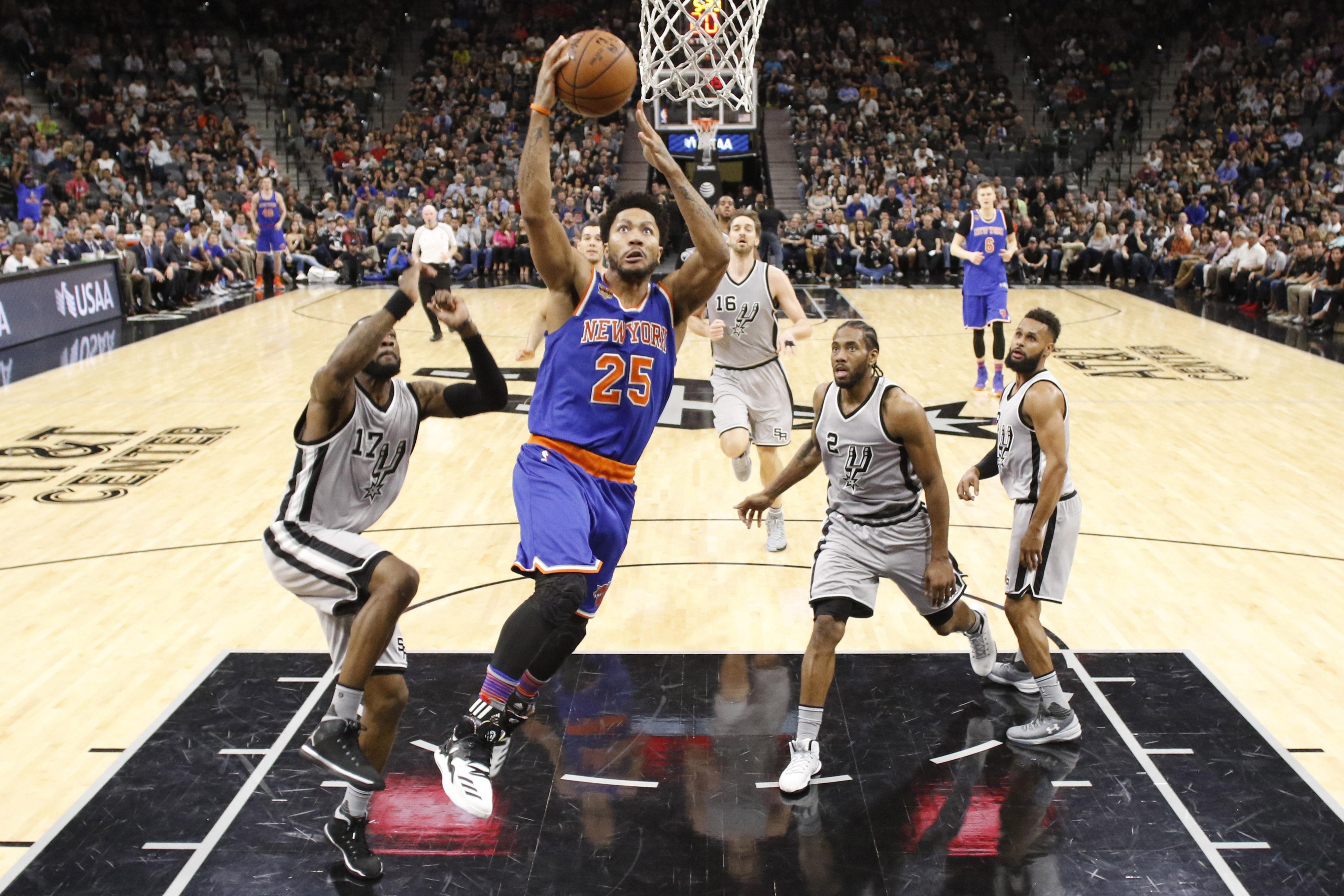 New York Knicks Derrick Rose Says Winning Is Priority As