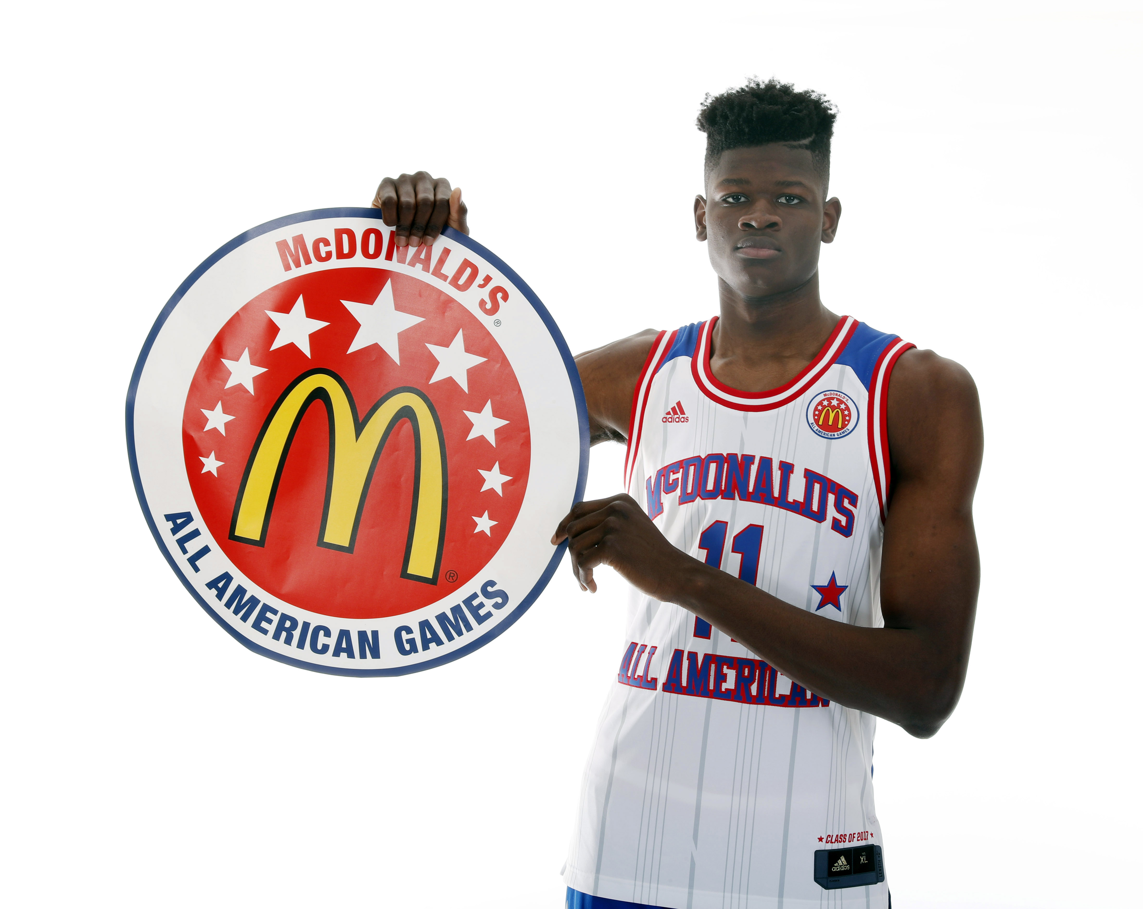 Texas Basketball Target Mo Bamba Runs McDonald's All ...