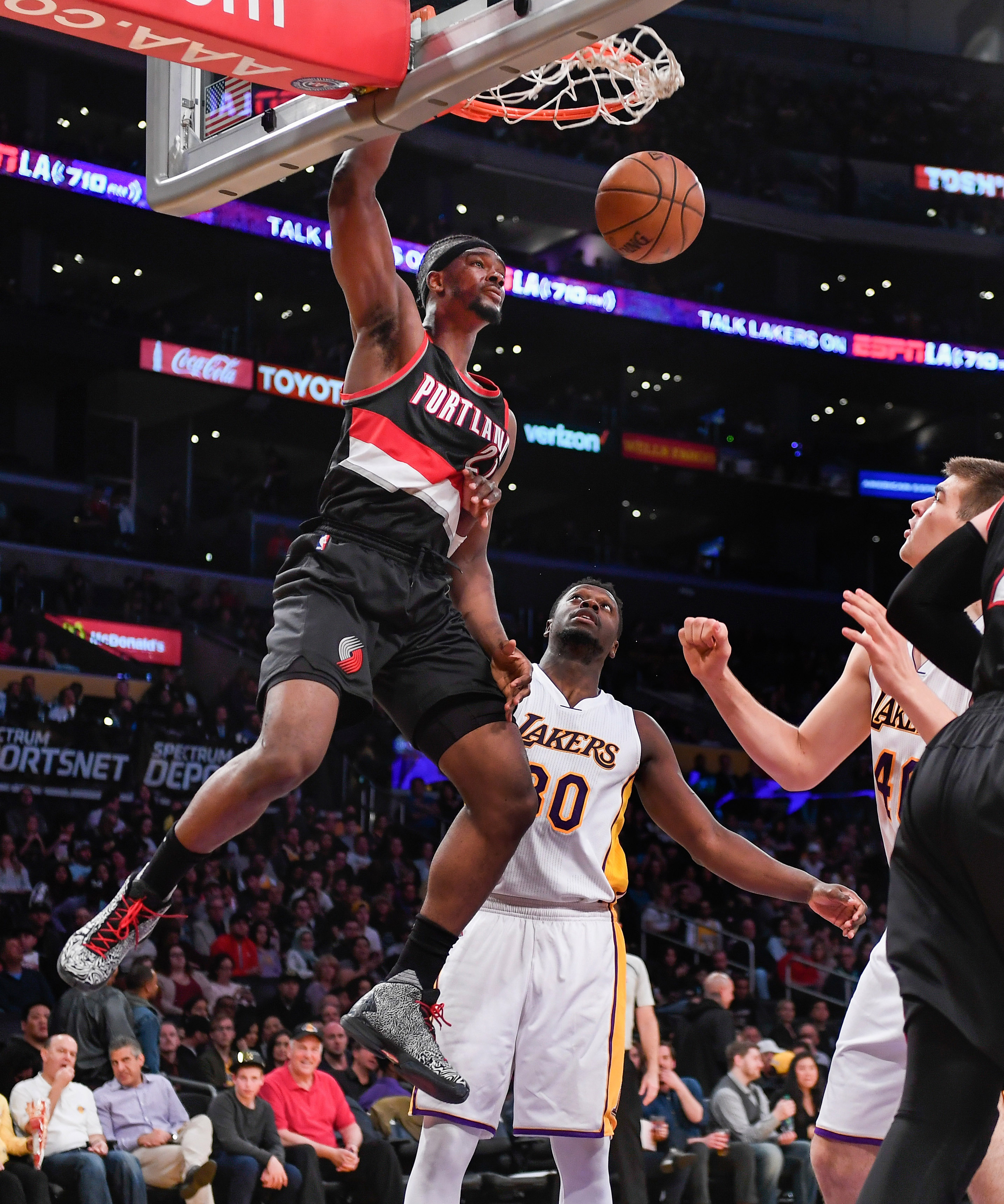Portland Trail Blazers Espn Nba: Blazers Overtake 8th Spot With Dominant Win Against The Lakers