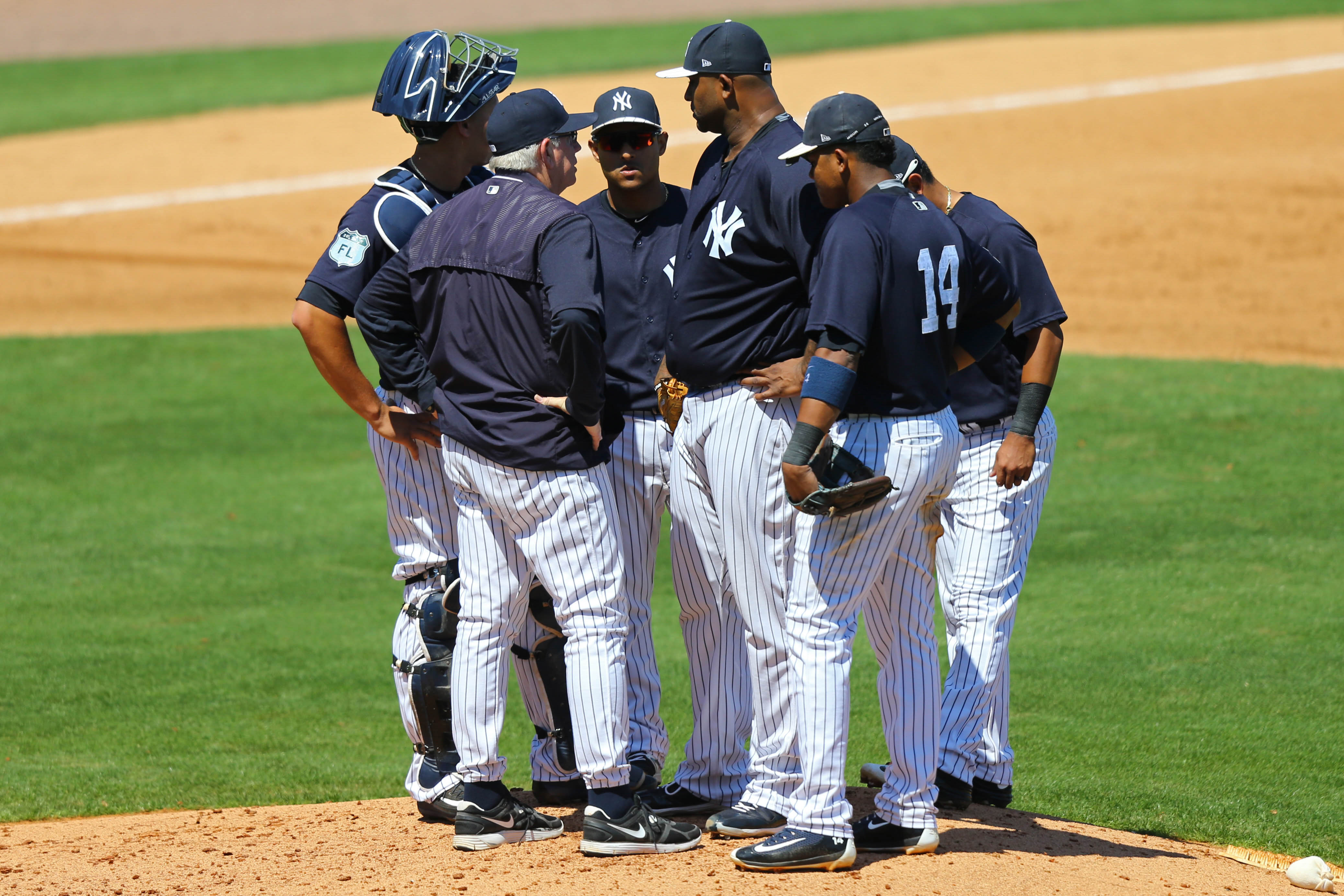 9976943-mlb-spring-training-baltimore-orioles-at-new-york-yankees