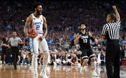 North Carolina fights off Gonzaga for 71-65 win and national championship